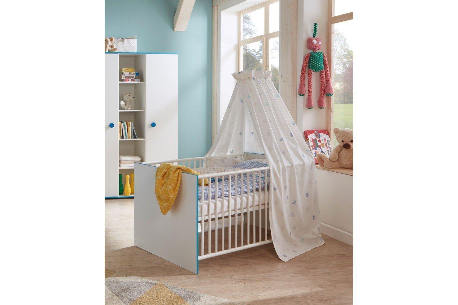 Arthur berndt moritz babybett wei 70 x 140 cm m bel letz ihr online shop - Arthur berndt babyzimmer ...