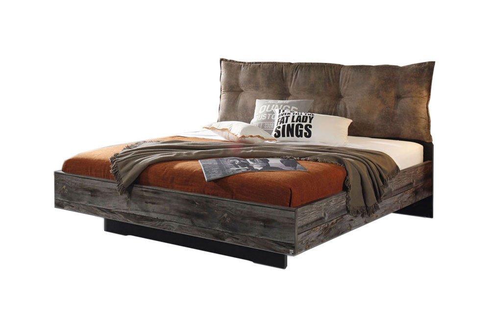 rauch timberstyle 140er bett mit polsterkopfteil m bel letz ihr online shop. Black Bedroom Furniture Sets. Home Design Ideas