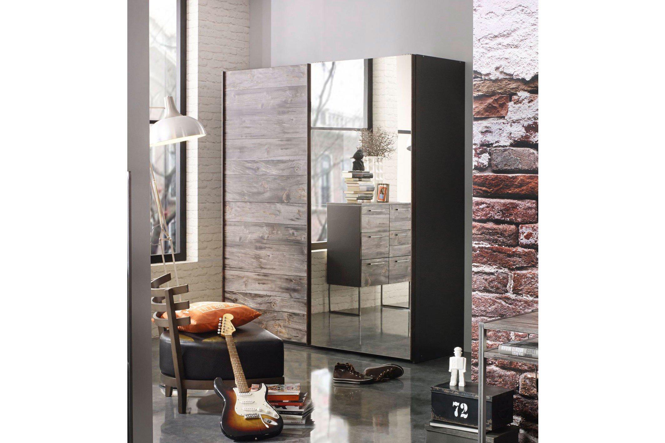 rauch schrank timberstyle industrial design m bel letz ihr online shop. Black Bedroom Furniture Sets. Home Design Ideas