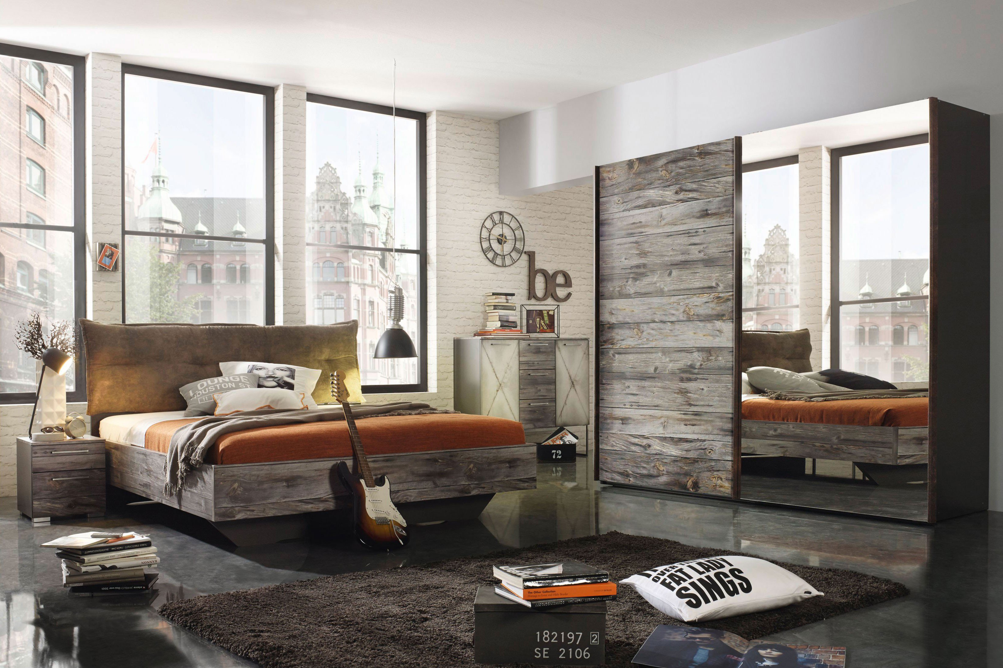 schlafzimmer mann mobilia kleines schlafzimmer altbau einrichten pinterest wandgestaltung. Black Bedroom Furniture Sets. Home Design Ideas