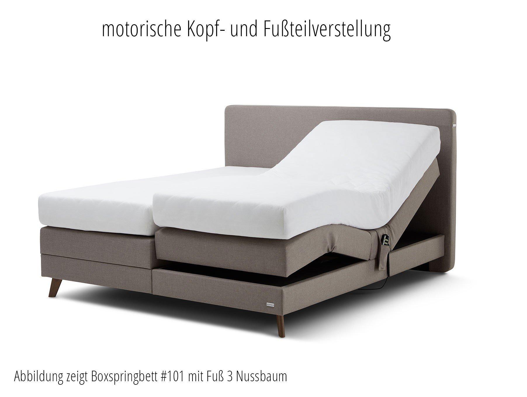 Boxspringbett #102 Cross von JETTE Betten in Schlamm | Möbel Letz ...