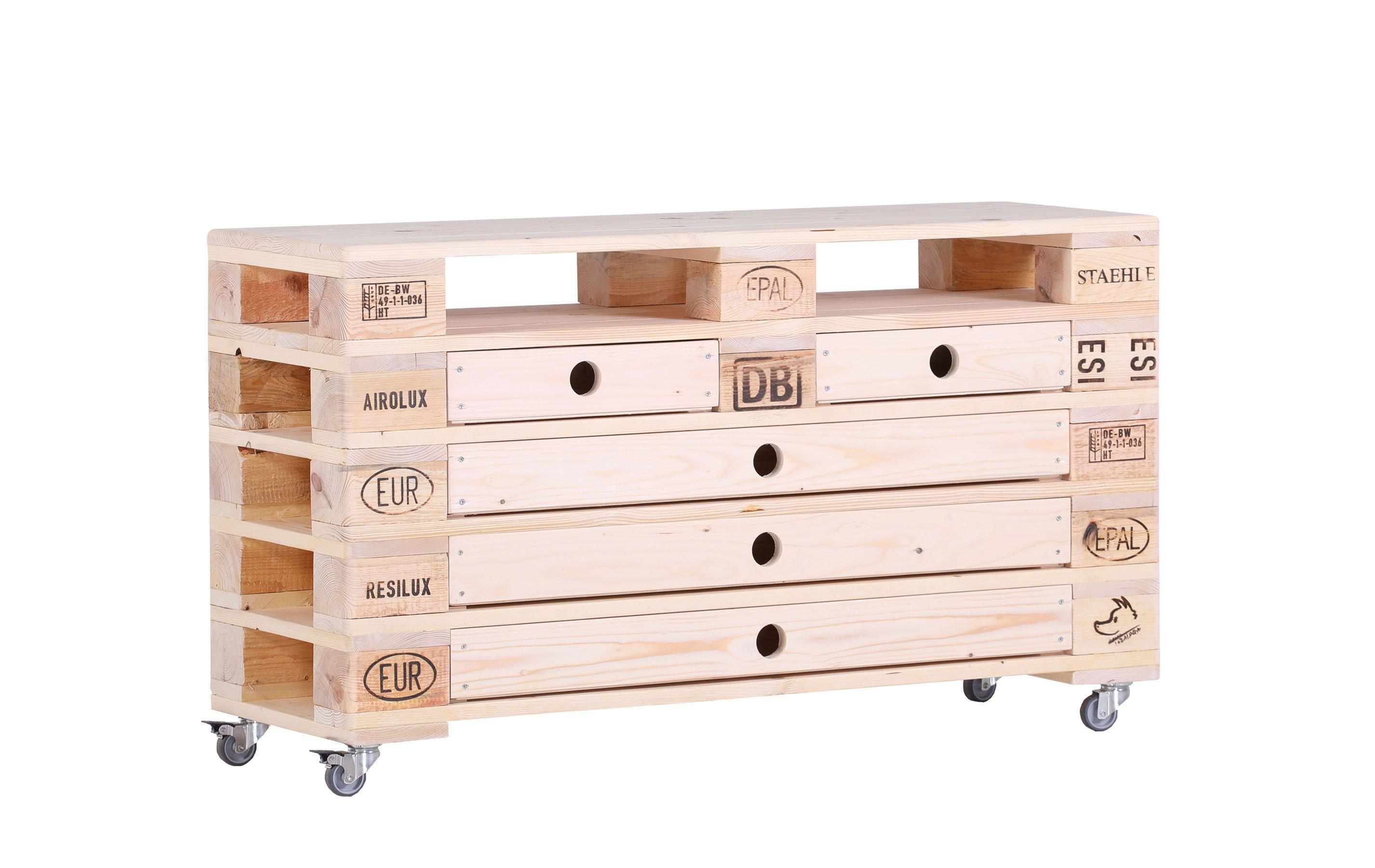 tabalugas lebenstraum sideboard aus palettenholz