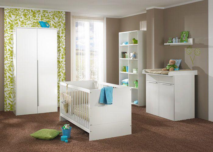 Babyzimmer möbel weiß  Paidi Babymöbel Fabiana Hochglanz-weiß | Möbel Letz - Ihr Online-Shop