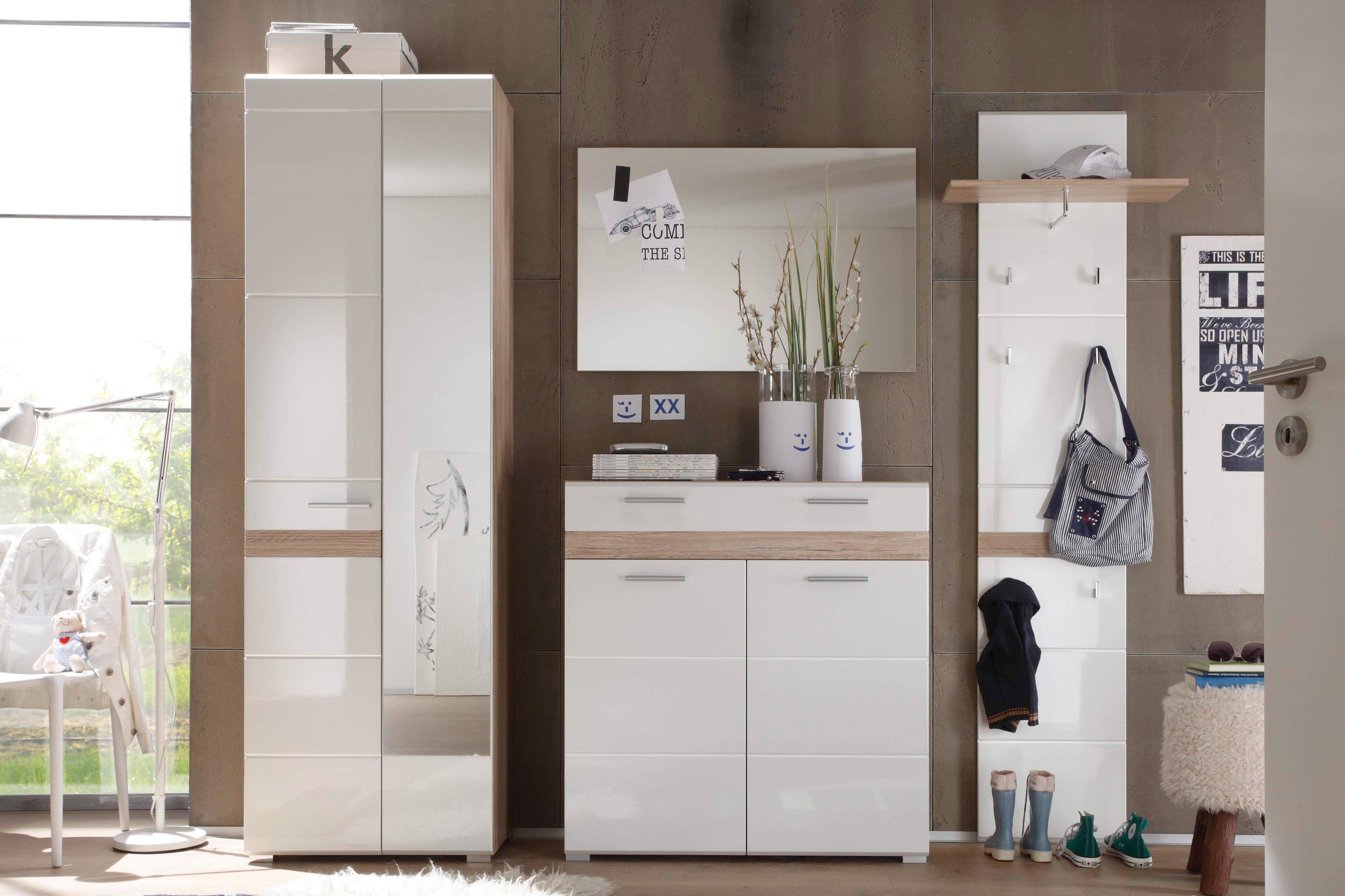 Wunderschön Garderobenpaneel Buche Das Beste Von Setone Von Trendteam - Garderobe In Weiß