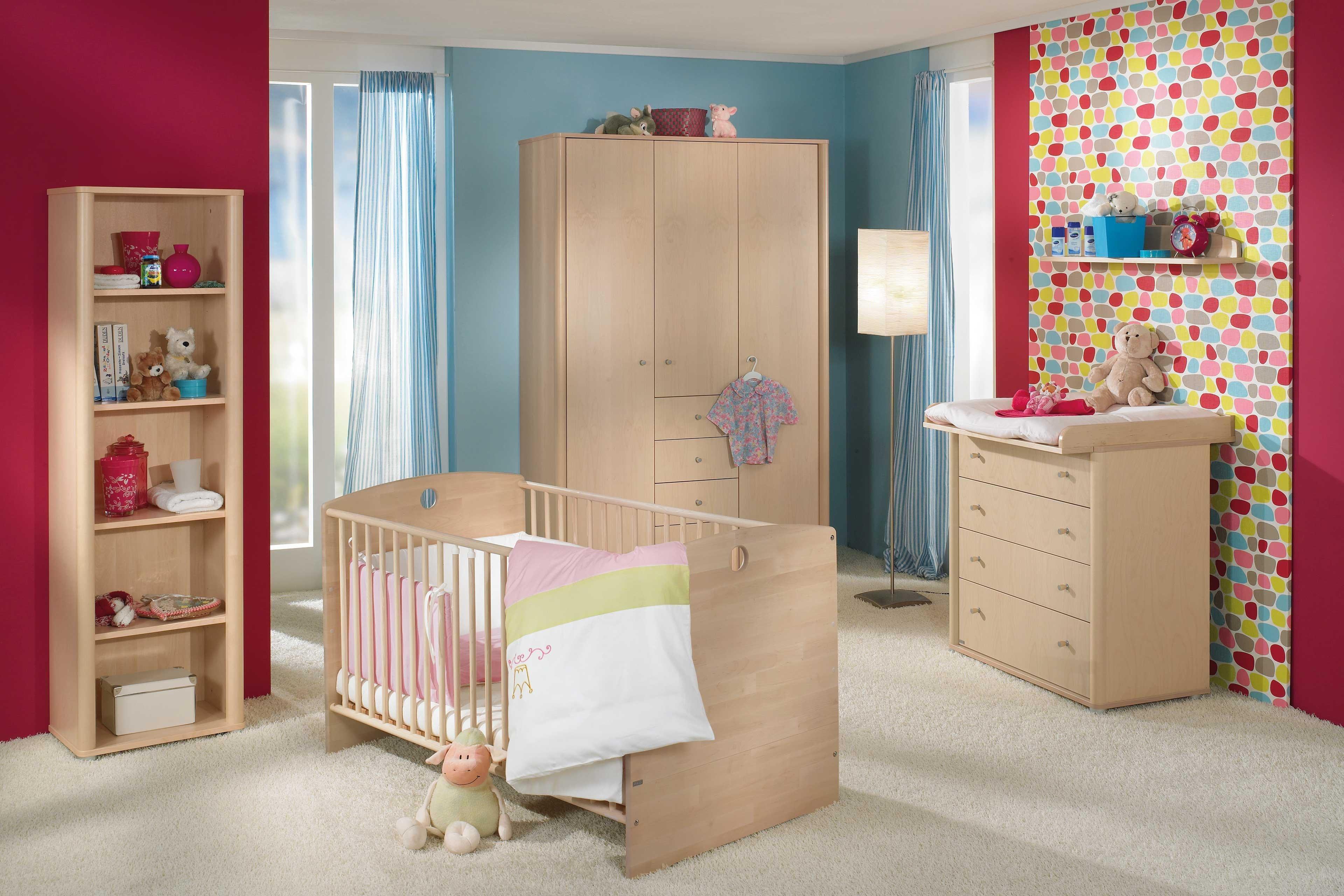 paidi babyzimmer fleximo birke hell m bel letz ihr. Black Bedroom Furniture Sets. Home Design Ideas