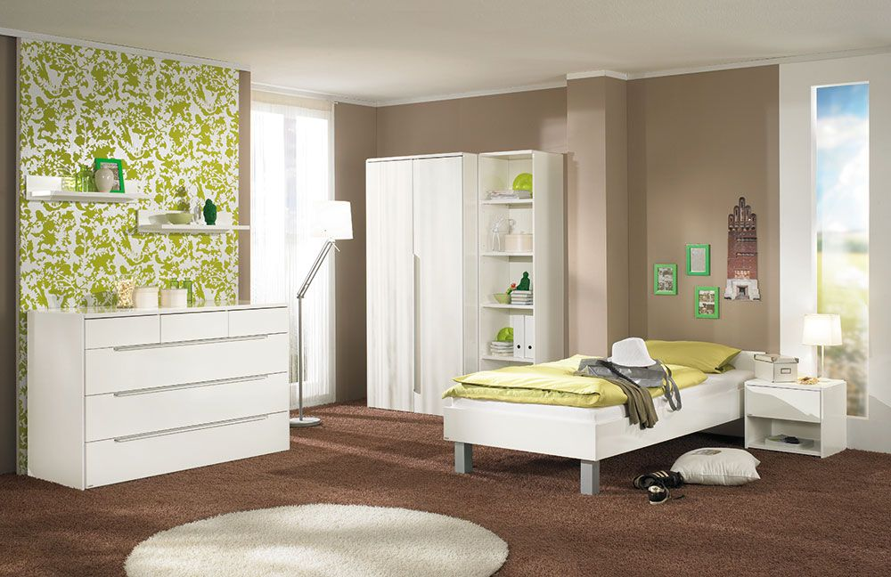 paidi fabiana jugendzimmer glanz wei m bel letz ihr. Black Bedroom Furniture Sets. Home Design Ideas
