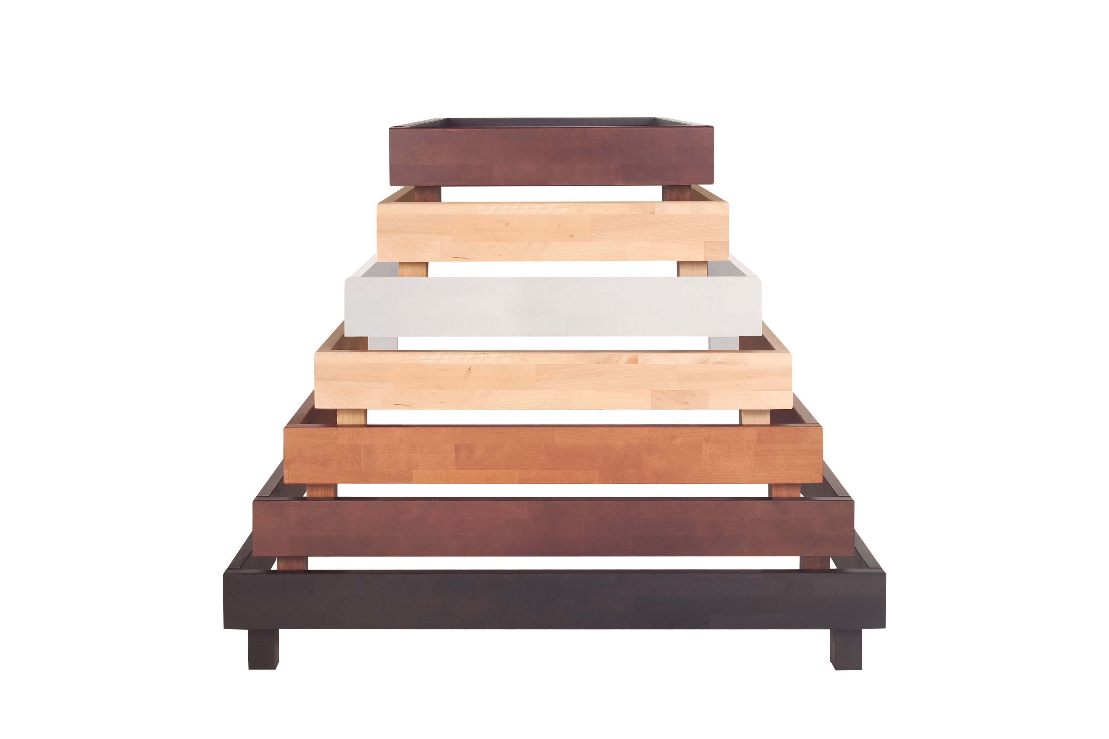 Modular Primolar serino Bett Buche/ braun | Möbel Letz - Ihr Online-Shop