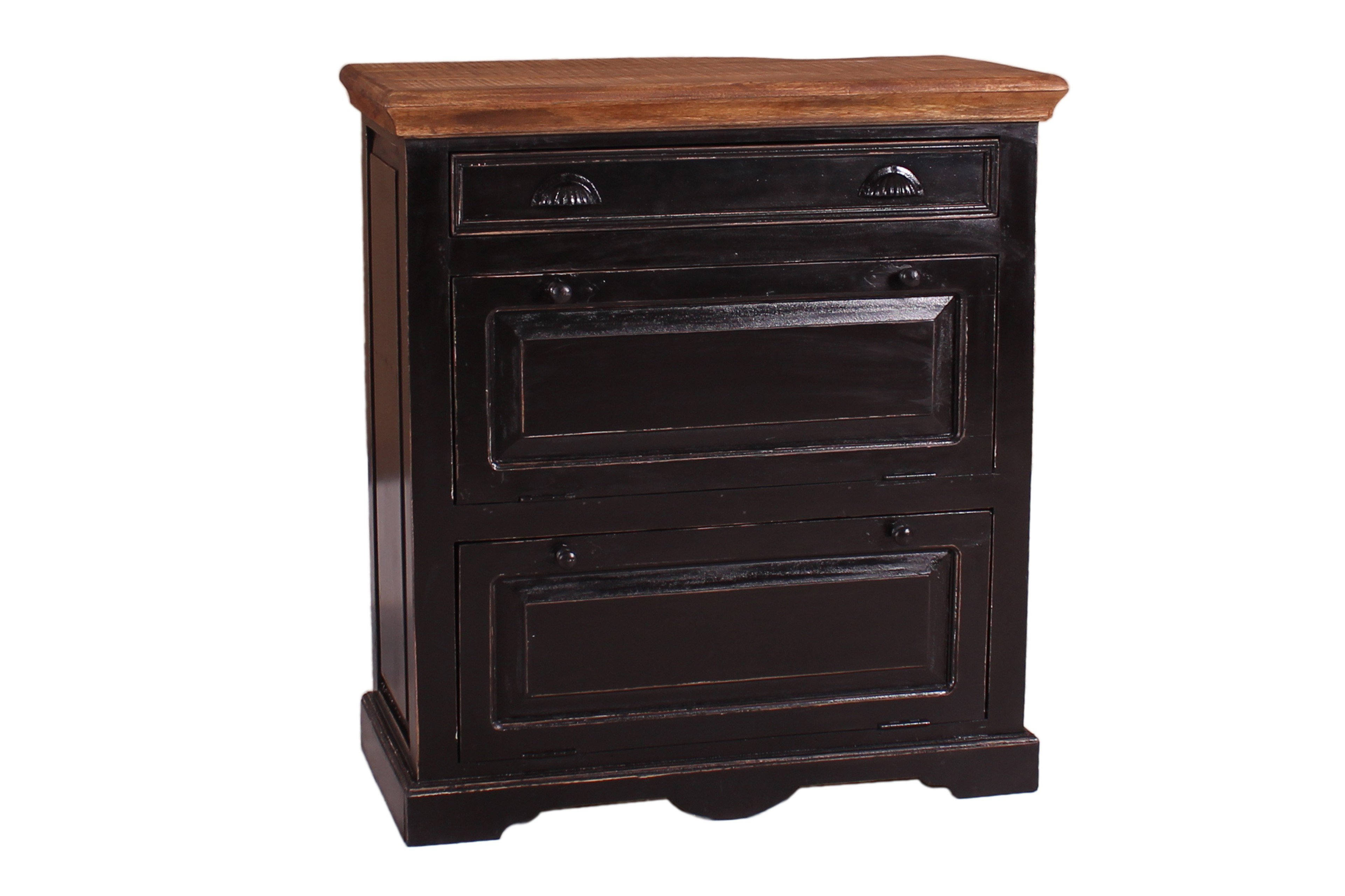 sit m bel schuhschrank corsica schwarz m bel letz ihr online shop. Black Bedroom Furniture Sets. Home Design Ideas