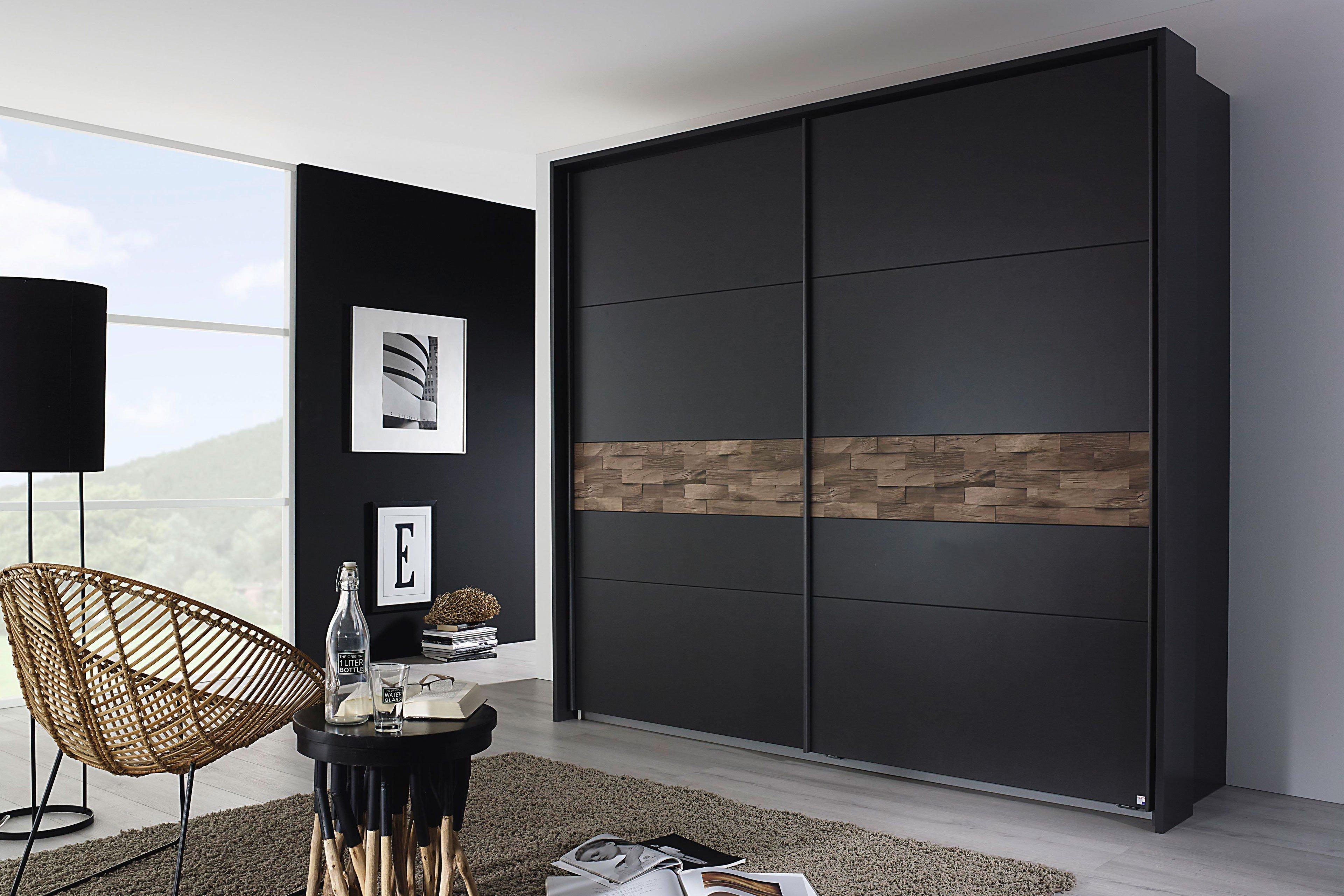 Rauch Kleiderschrank Hof grau-metallic   Möbel Letz - Ihr Online-Shop