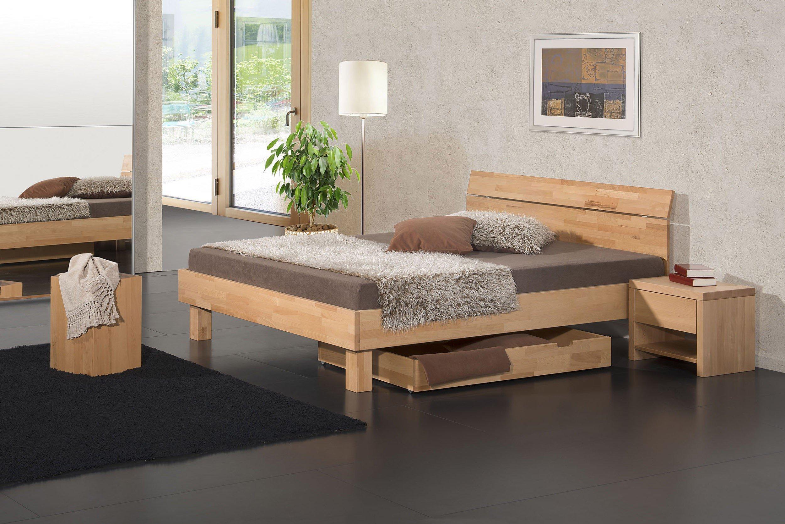 Modular Bett Primolar serino Buche natur | Möbel Letz - Ihr Online-Shop