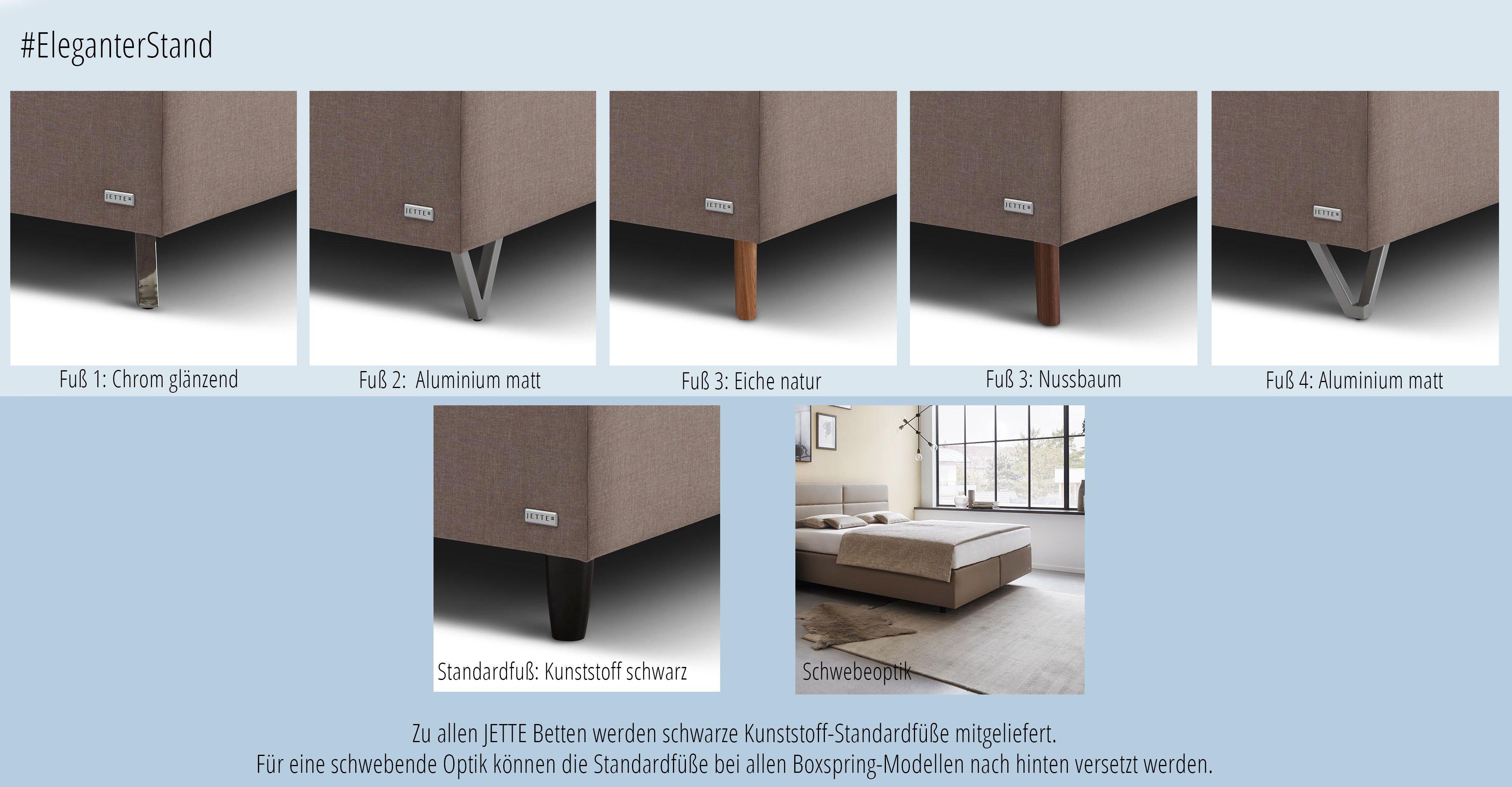 f198dd001f Polsterbett #101 Straight von JETTE Betten sand | Möbel Letz - Ihr ...