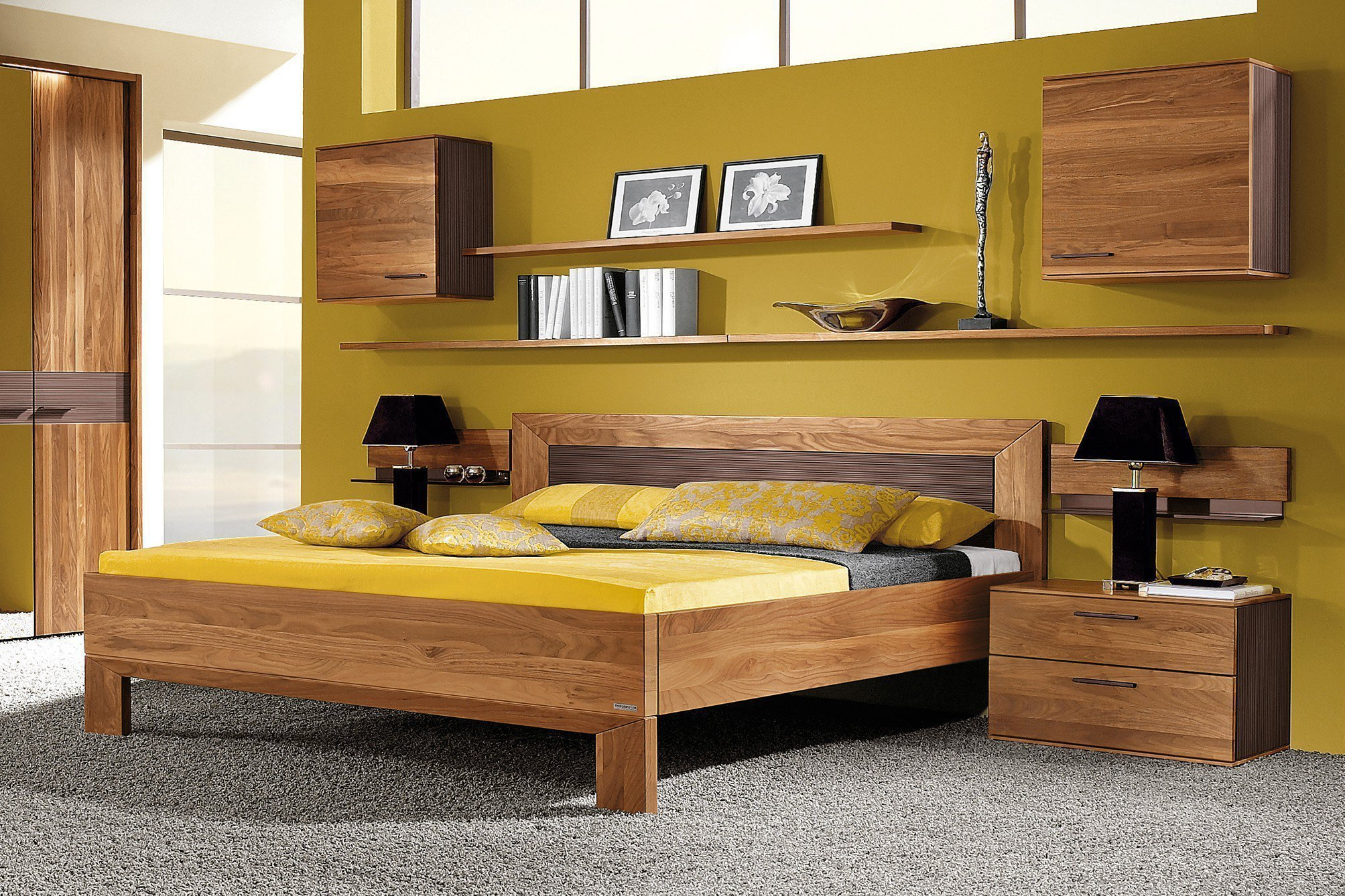 doppelbett 180x200 cm mali von thielemeyer m bel letz ihr online shop. Black Bedroom Furniture Sets. Home Design Ideas
