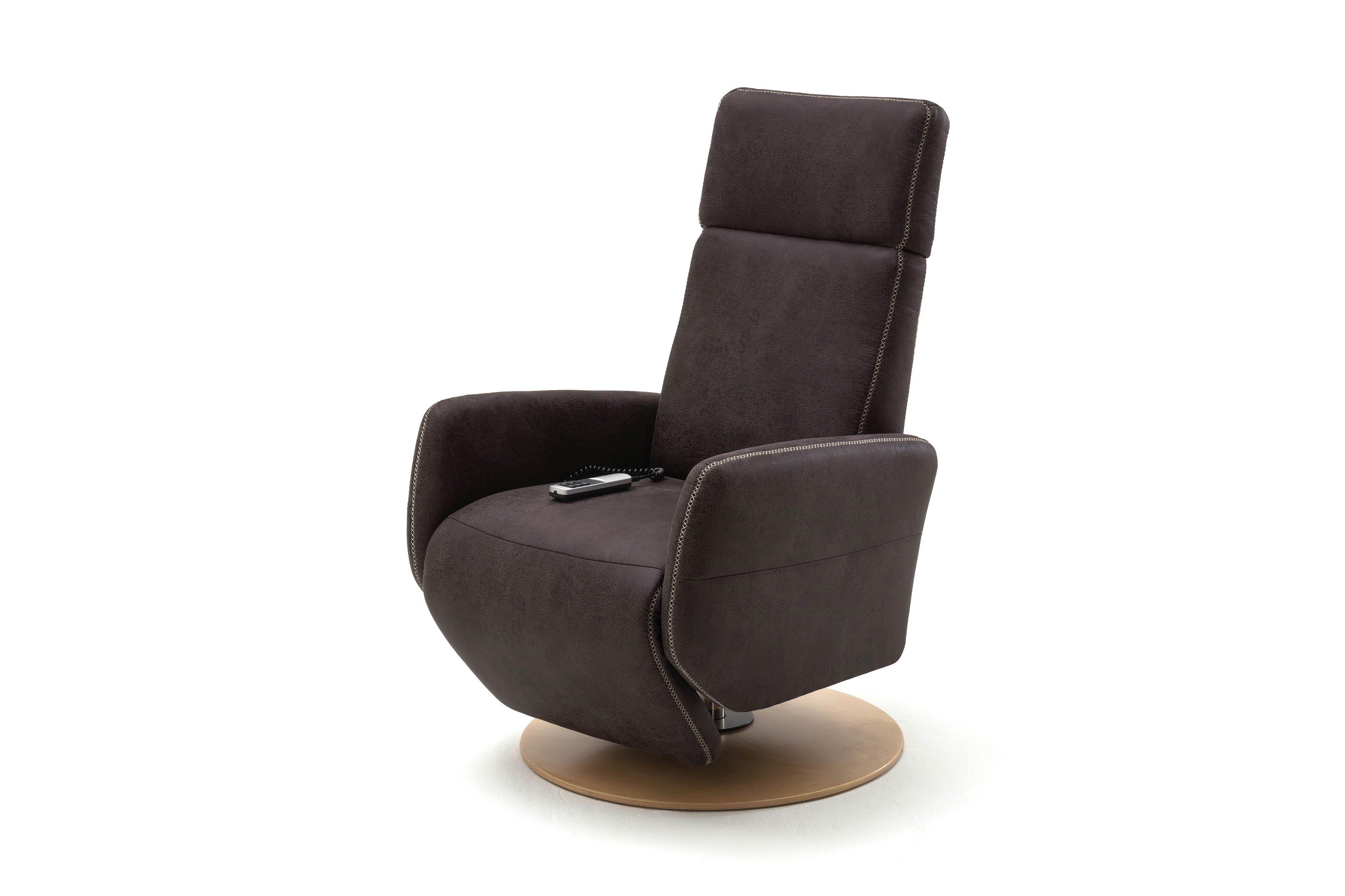 Sit & More home basic TV Madison Plus Relaxsessel grau | Möbel Letz ...