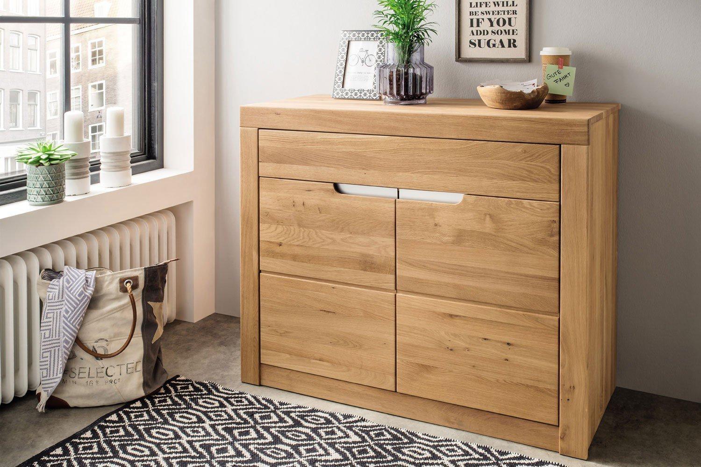 Wohnglücklich Sideboard 7009 Basel Eiche Natur Möbel Letz Ihr
