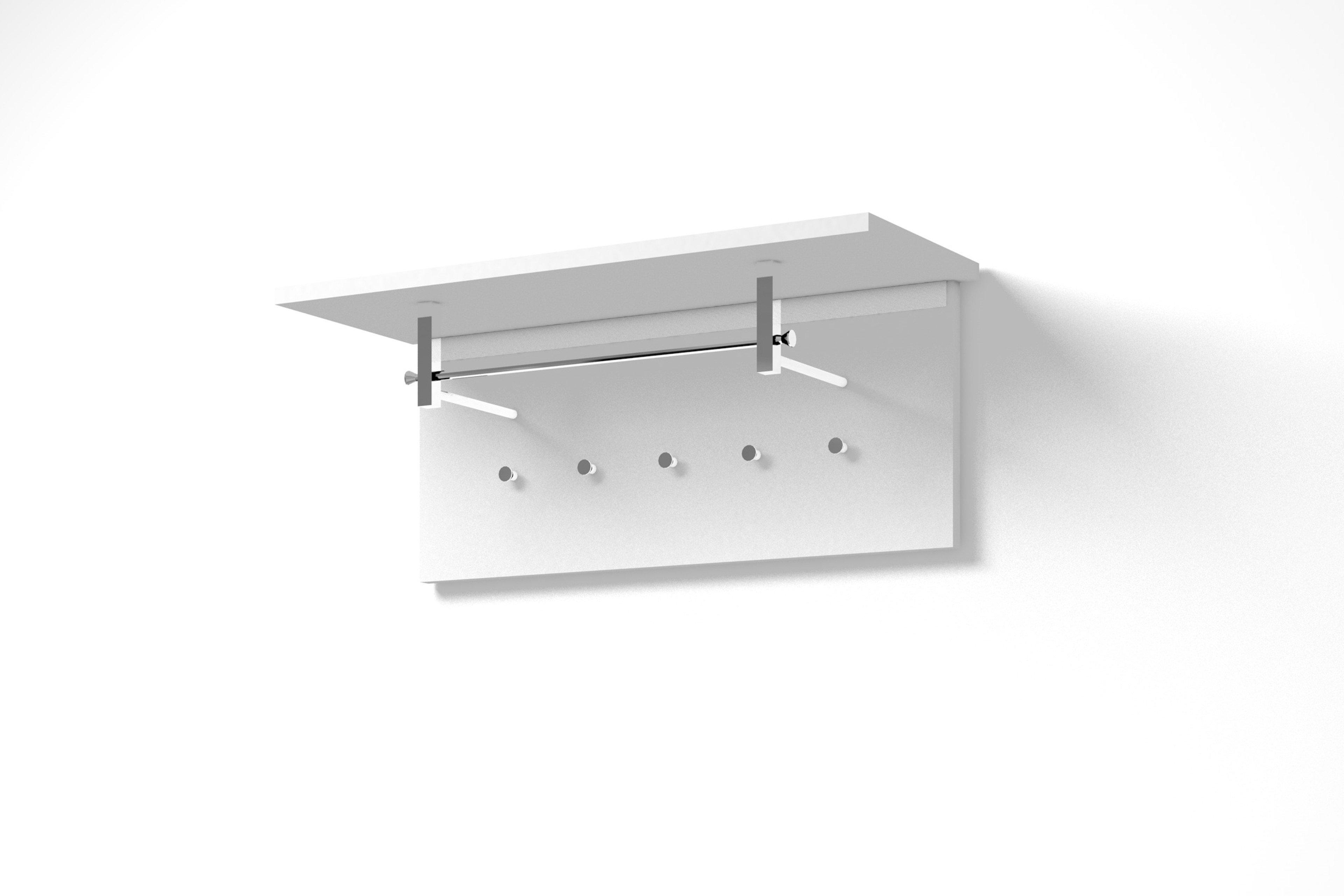 Verschiedene Garderobenpaneel Weiß Referenz Von Bolero Von Arredokit - Weiß Matt
