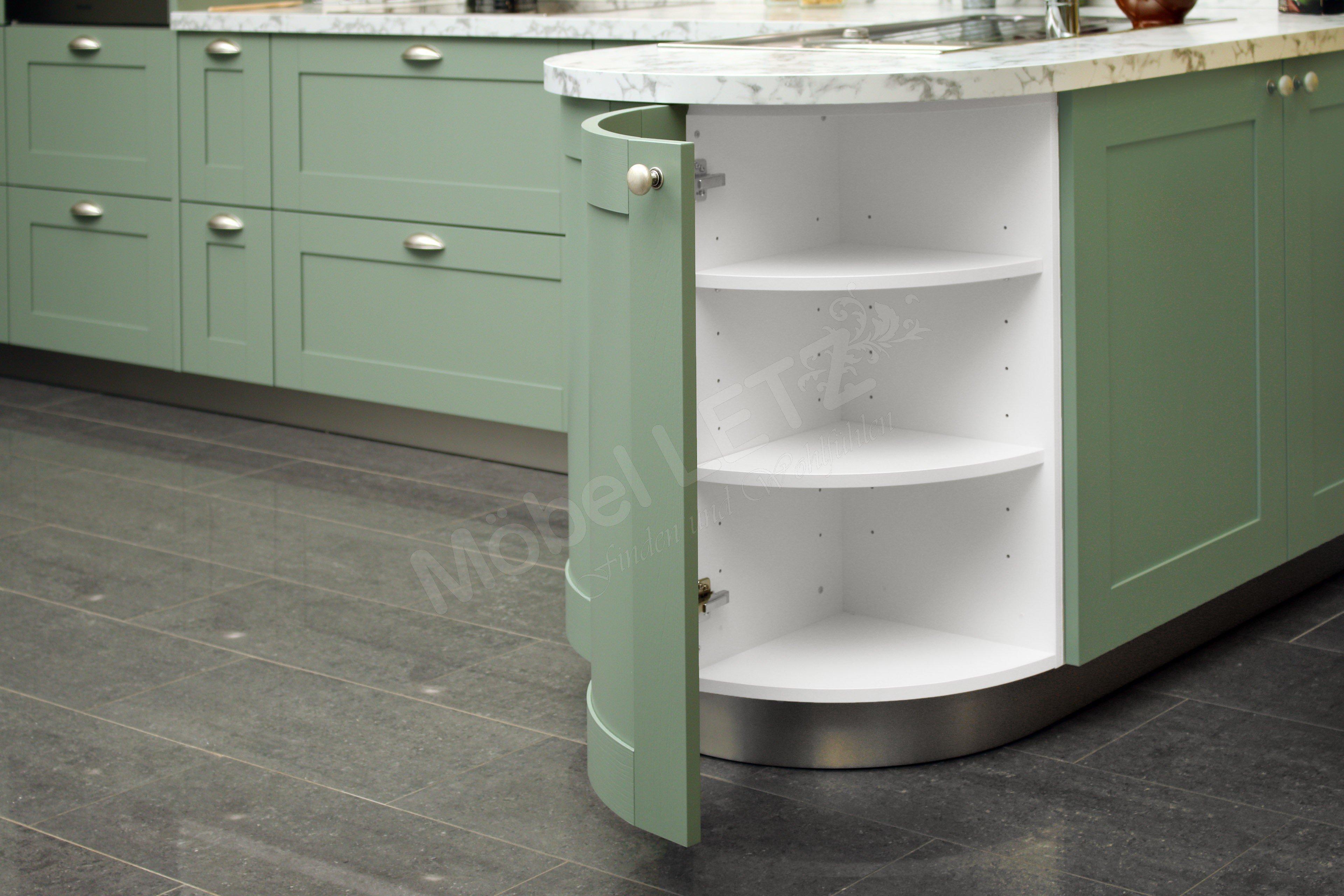 Schüller Küchen Casa Winkelküche In Salbeigrün Möbel Letz Ihr