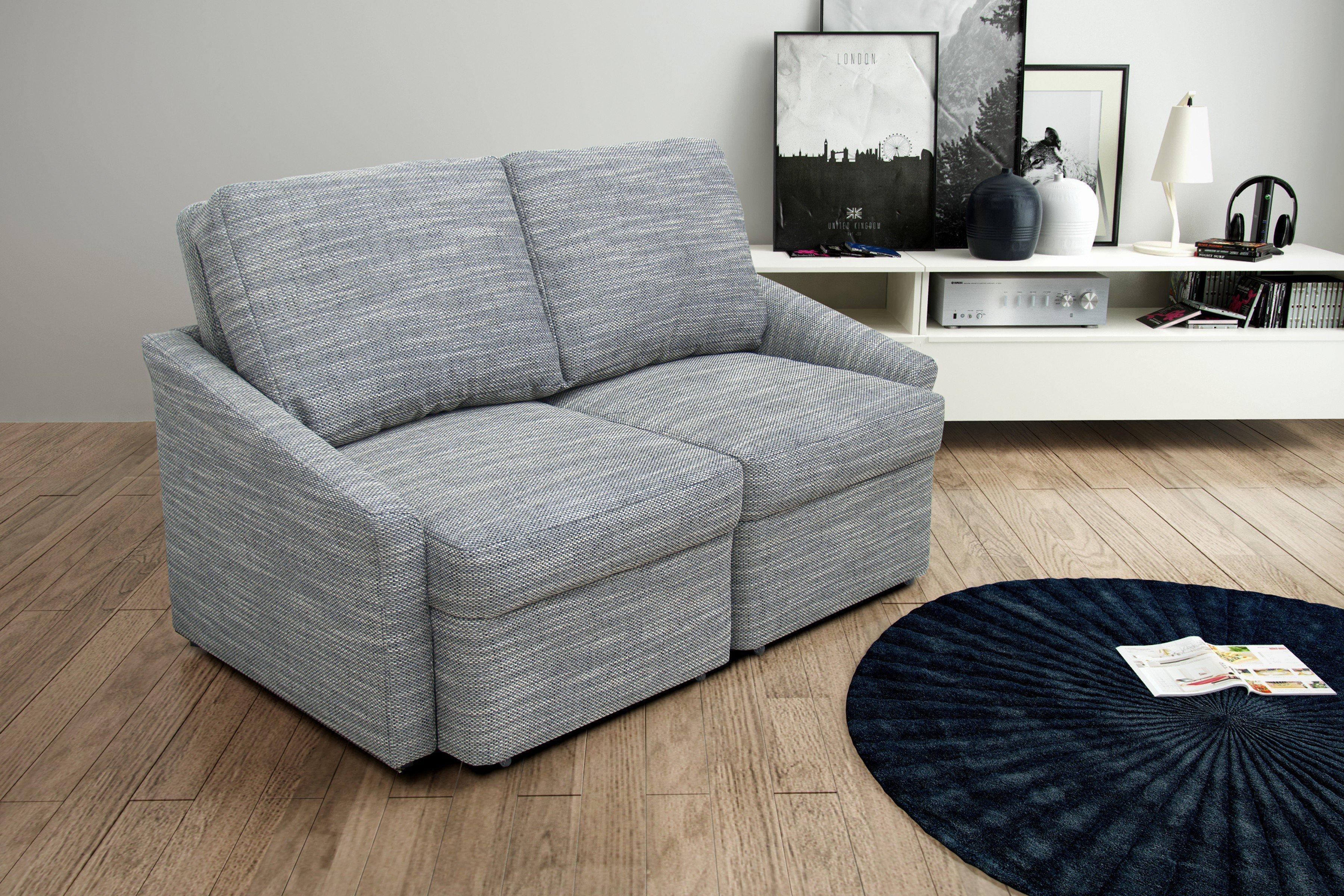 Domo Collection Relax II Box Einzelsofa grau | Möbel Letz - Ihr ...