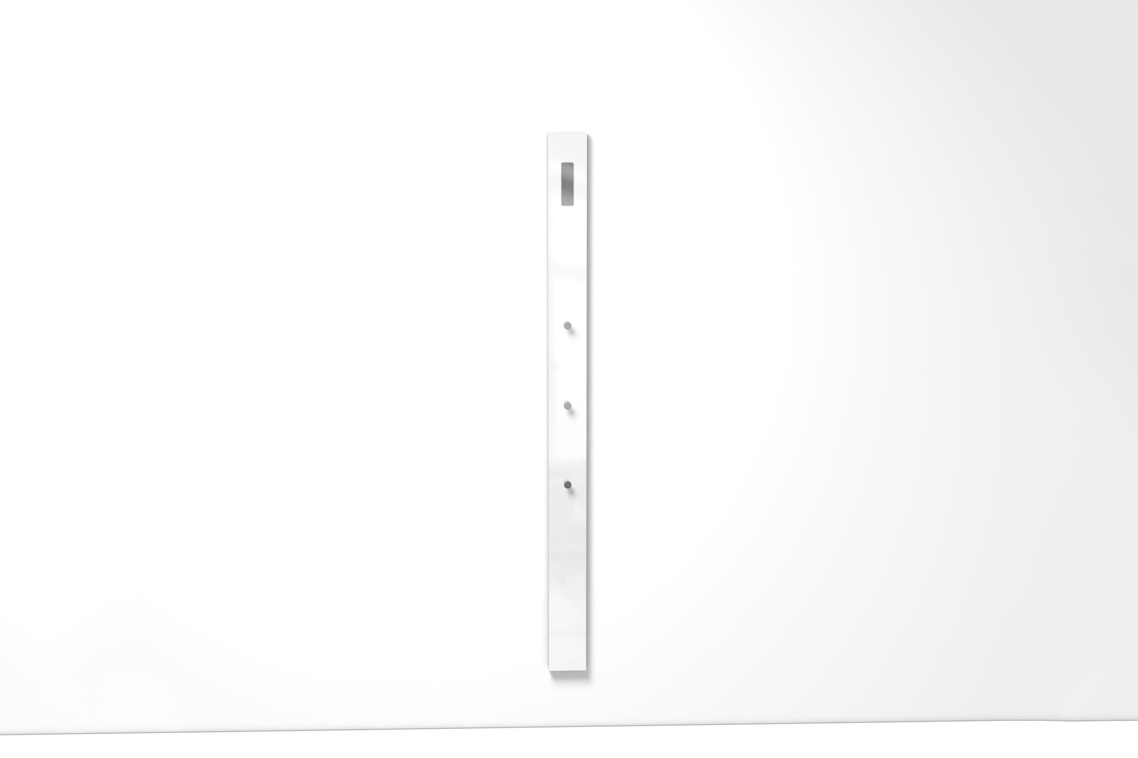 Elegant Garderobenpaneel Weiß Dekoration Von Luna Von Arredokit - Weiß