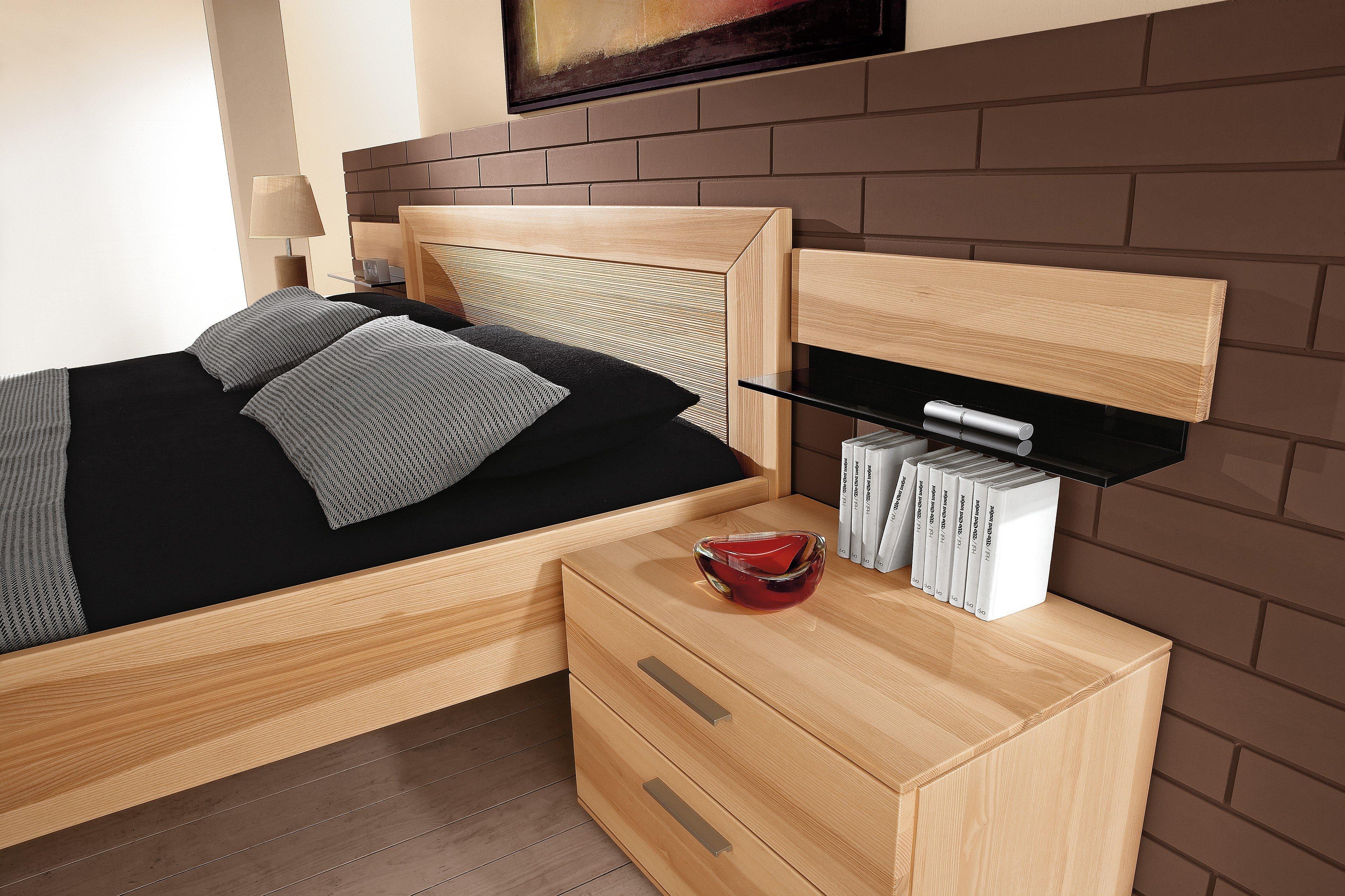 Mali von Thielemeyer Bett Strukturesche | Möbel Letz - Ihr Online-Shop