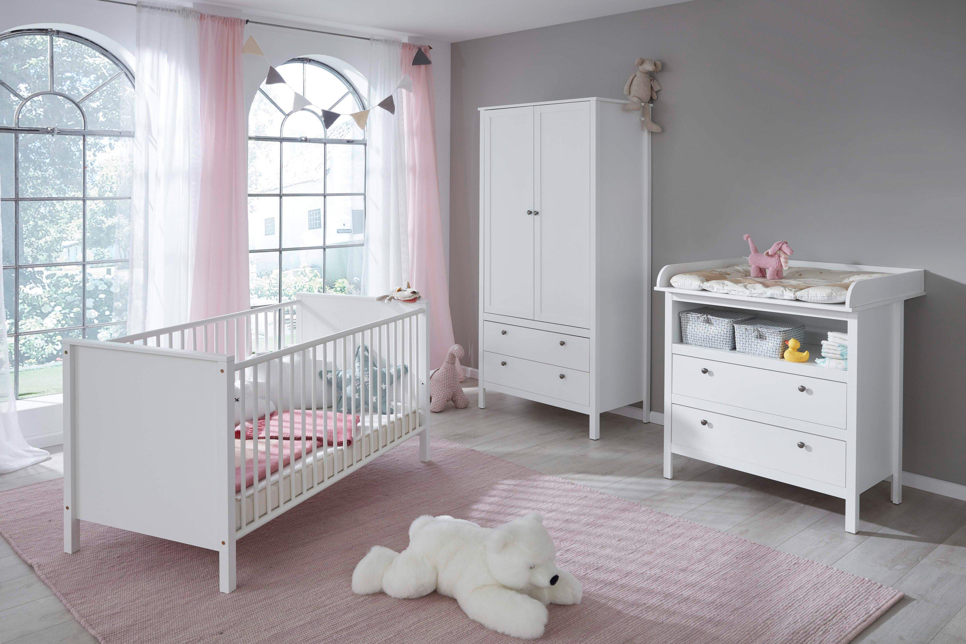 Trendteam Ole Babyzimmer weiß 601 | Möbel Letz - Ihr Online-Shop