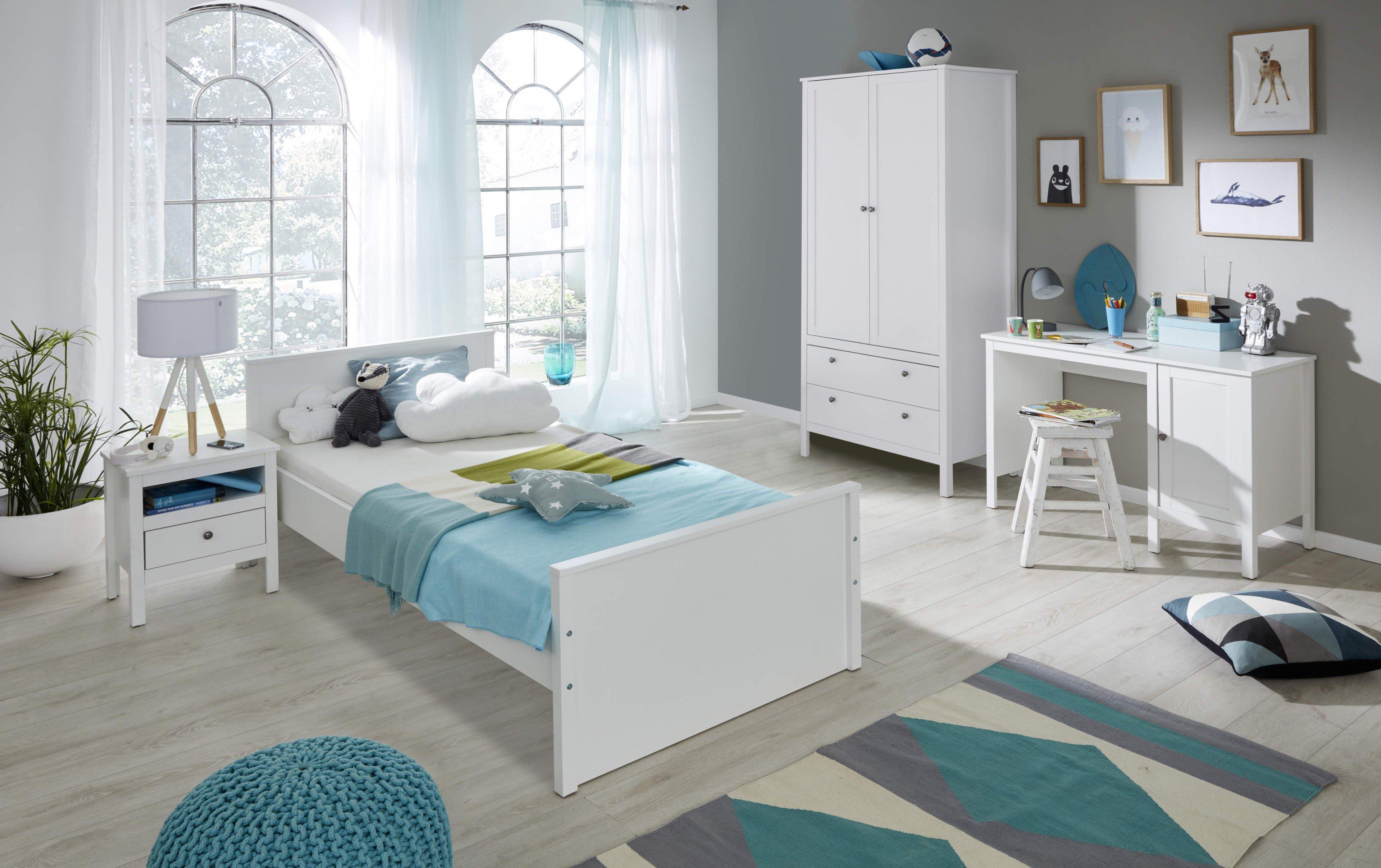 Trendteam Ole Jugendzimmer weiß 2-teilig | Möbel Letz - Ihr Online-Shop
