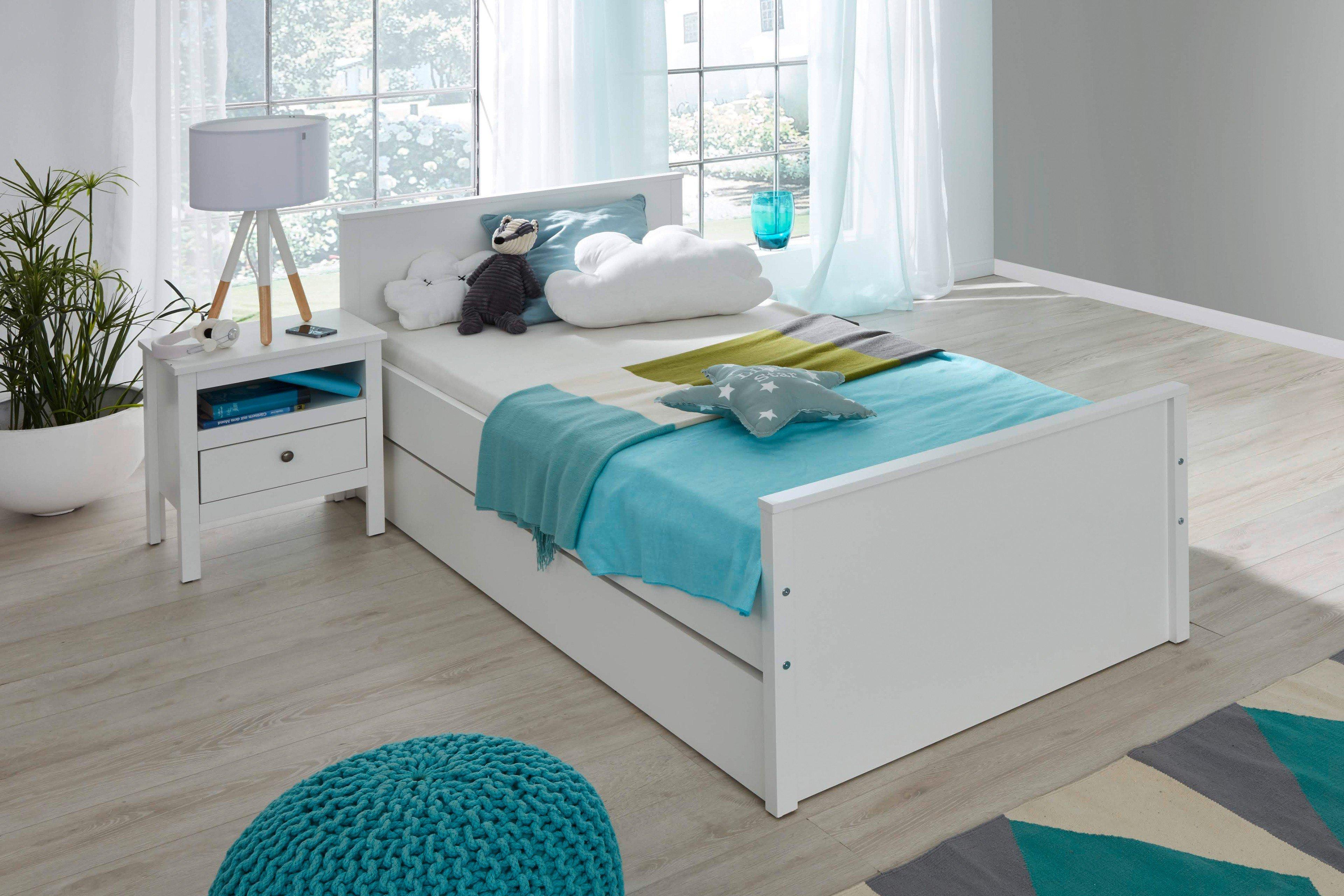 trendteam jugendbett mit g stebett ole m bel letz ihr online shop. Black Bedroom Furniture Sets. Home Design Ideas