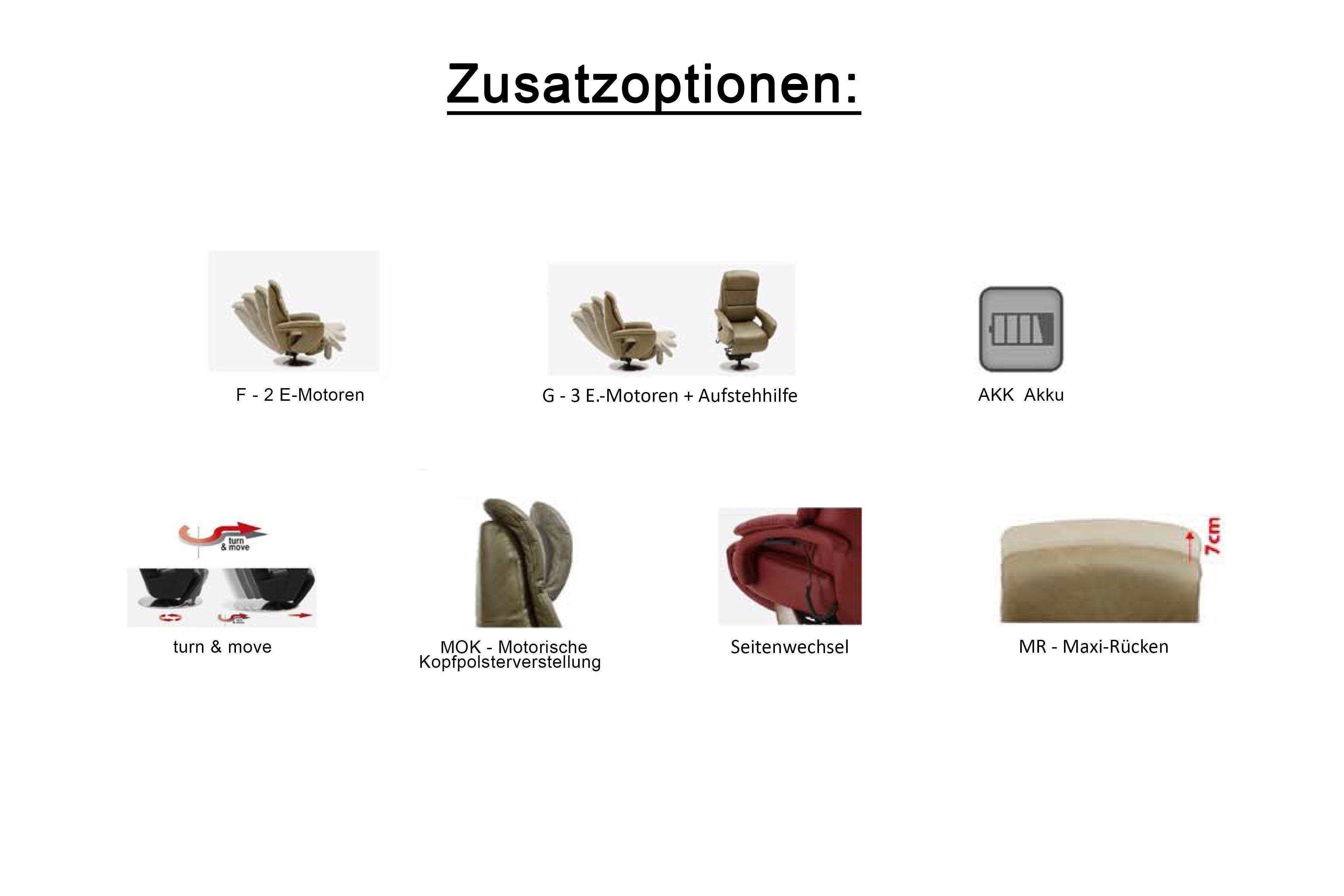Hukla Pr02 Drehsessel In Dunkelbraun Möbel Letz Ihr Online Shop