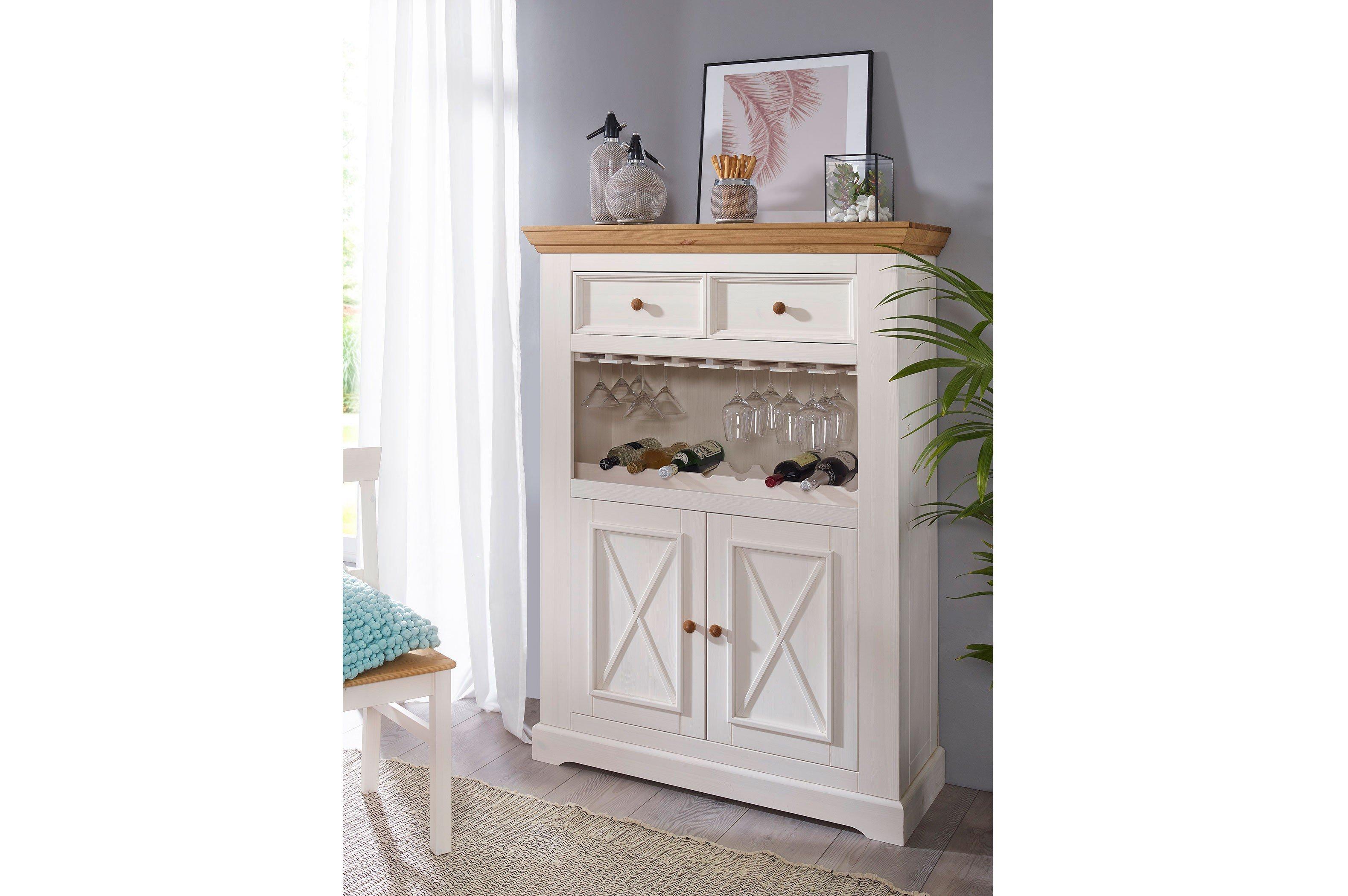 Gk Möbelvertrieb Wz 133 Barschrank Weiße Kiefer Möbel Letz Ihr