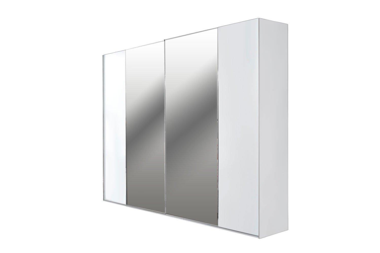 Kleiderschrank weiß mit spiegel  Colina Casada Kleiderschrank weiß mit Spiegel | Möbel Letz - Ihr ...