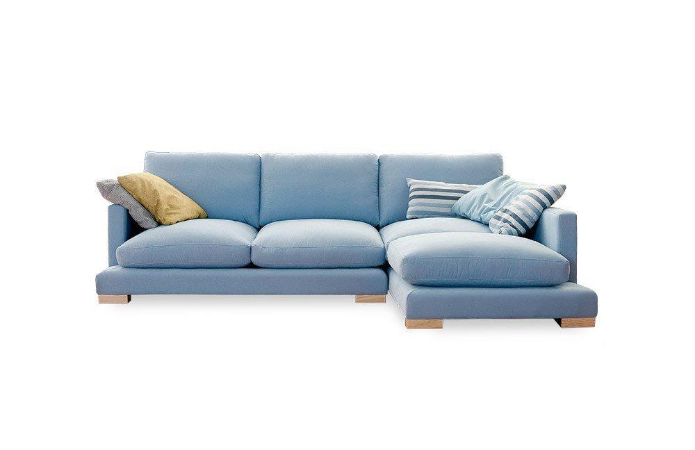 Viale Sure Sofaecke in Blau   Möbel Letz - Ihr Online-Shop