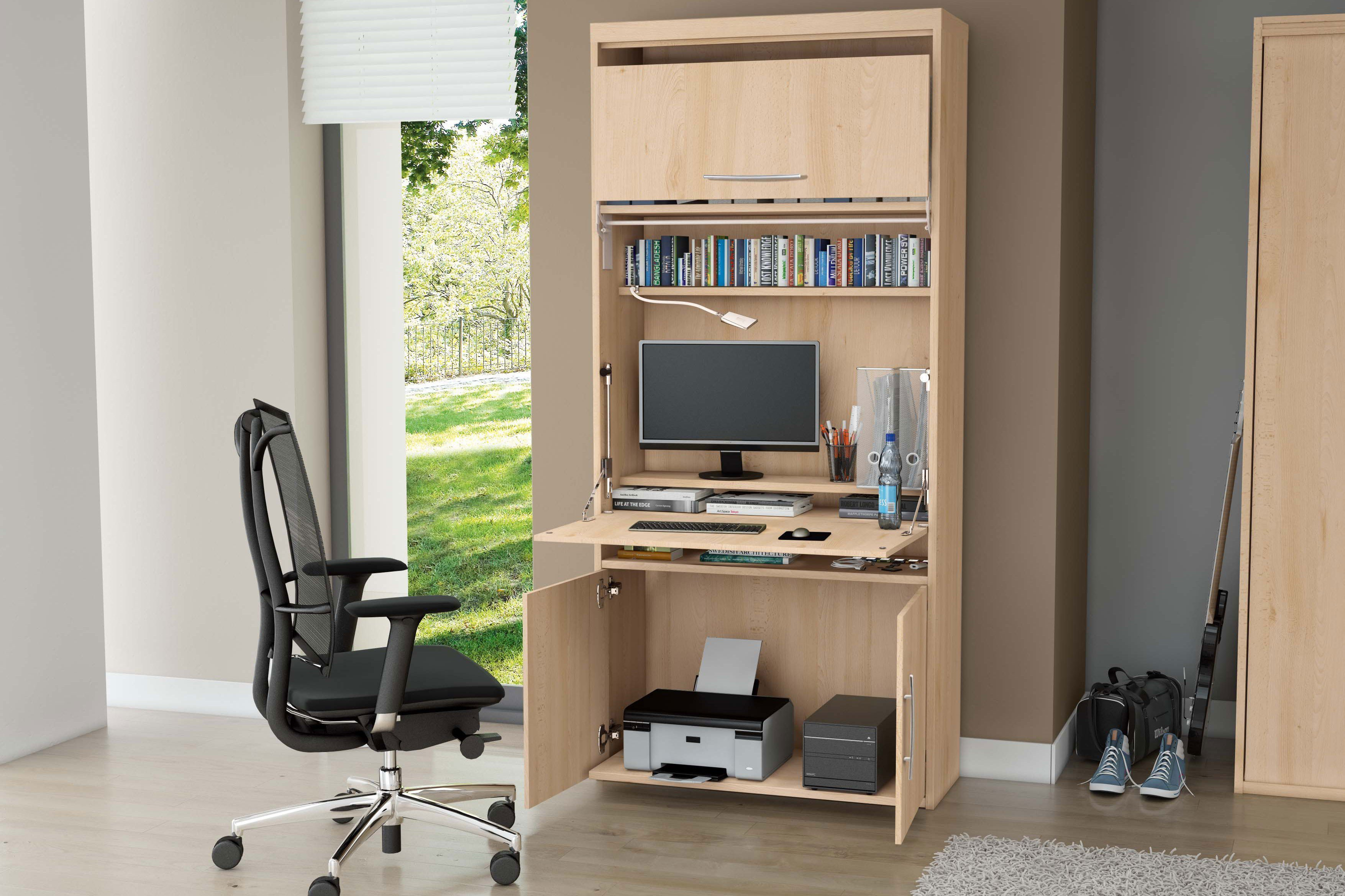 priess sekret r home office buche m bel letz ihr online shop. Black Bedroom Furniture Sets. Home Design Ideas