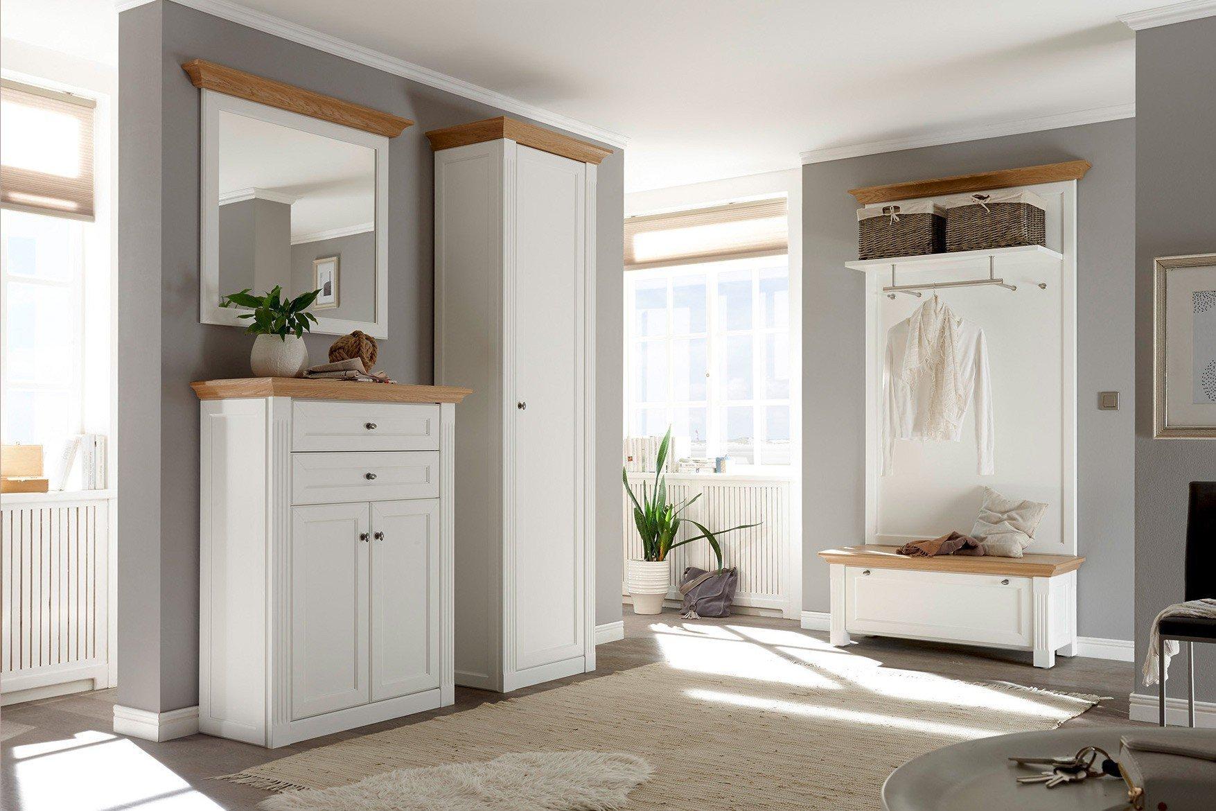 Maisonette Von Wehrsdorfer   Garderobe Weiß U0026 Asteiche