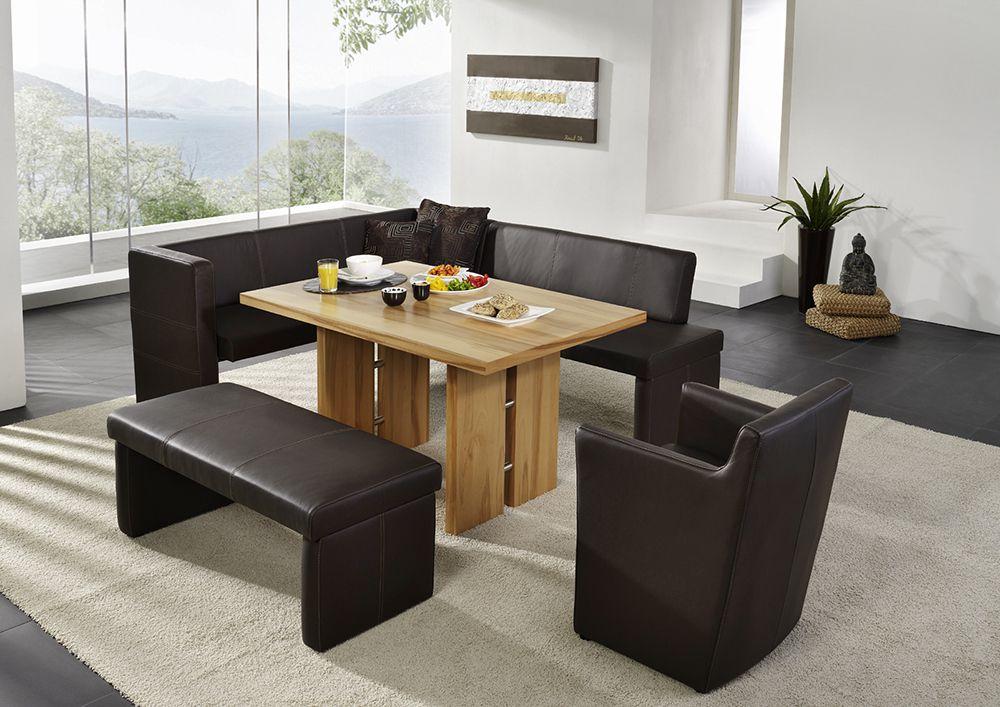 esstisch kernbuche ausziehbar 140 x 90 carprola for. Black Bedroom Furniture Sets. Home Design Ideas