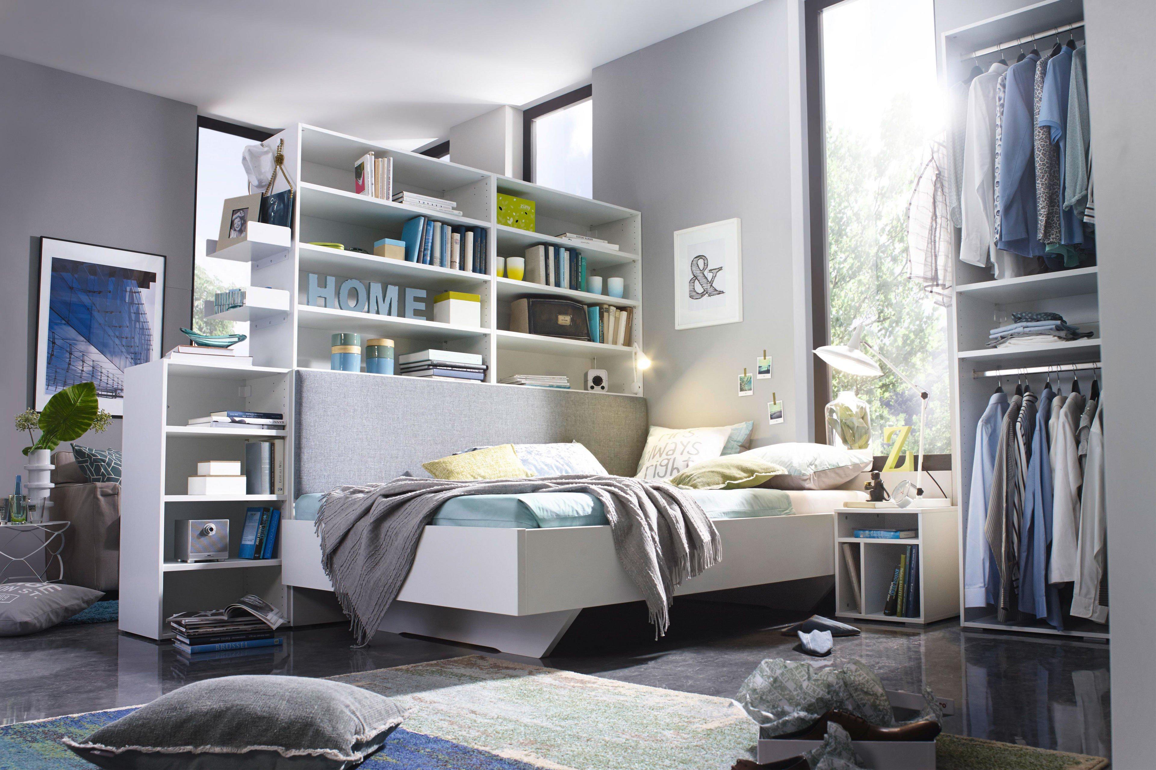 Dressbox Von Rauch Select   Bett Weiß Mit Couch Funktion
