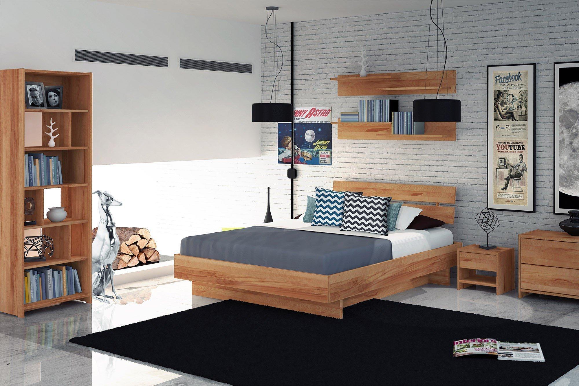 The Beds Vigo Holzbett Kernbuche natur | Möbel Letz - Ihr Online-Shop