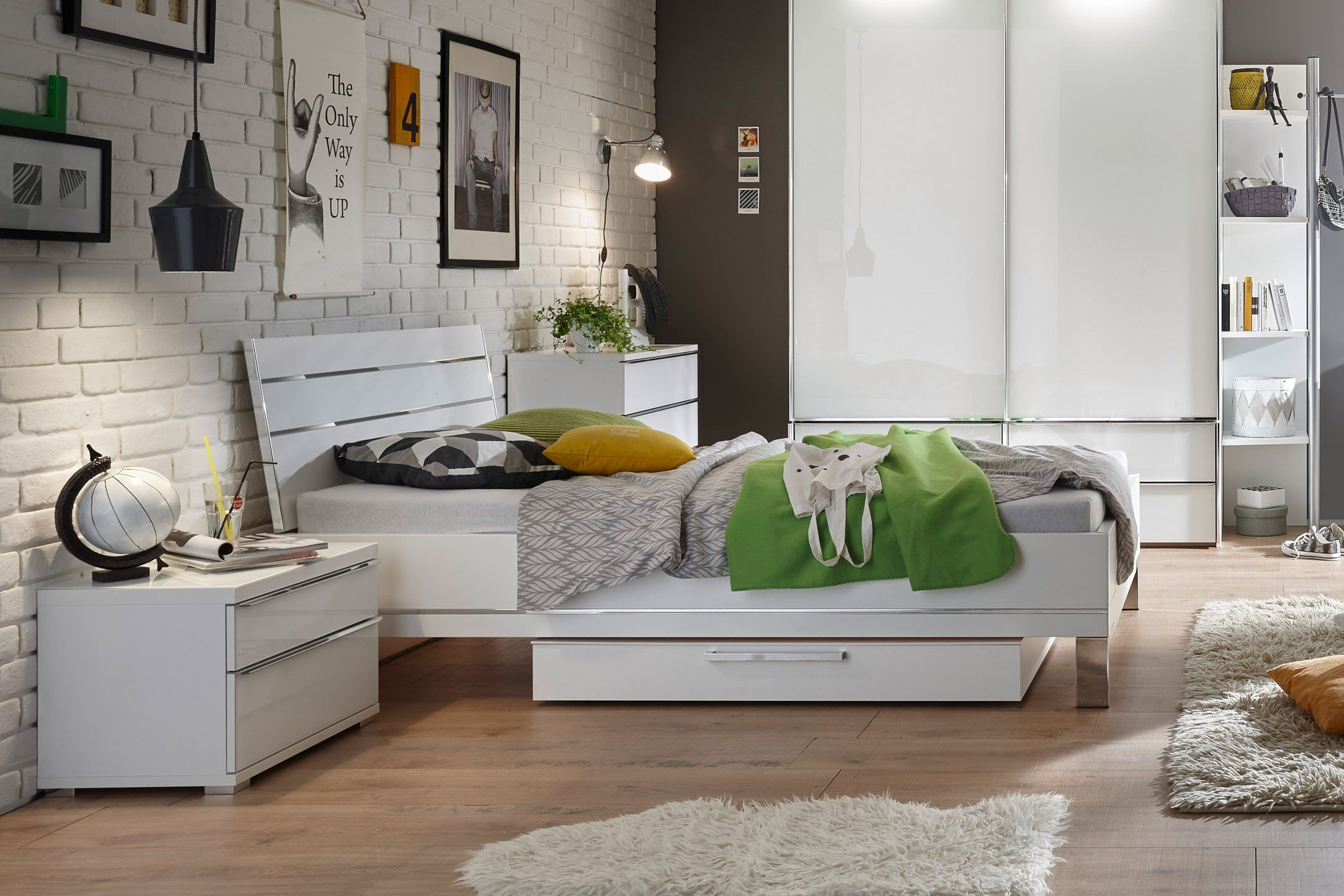 Staud Sinfonie Plus Single Bett Weiß Alpinweiß Möbel Letz Ihr