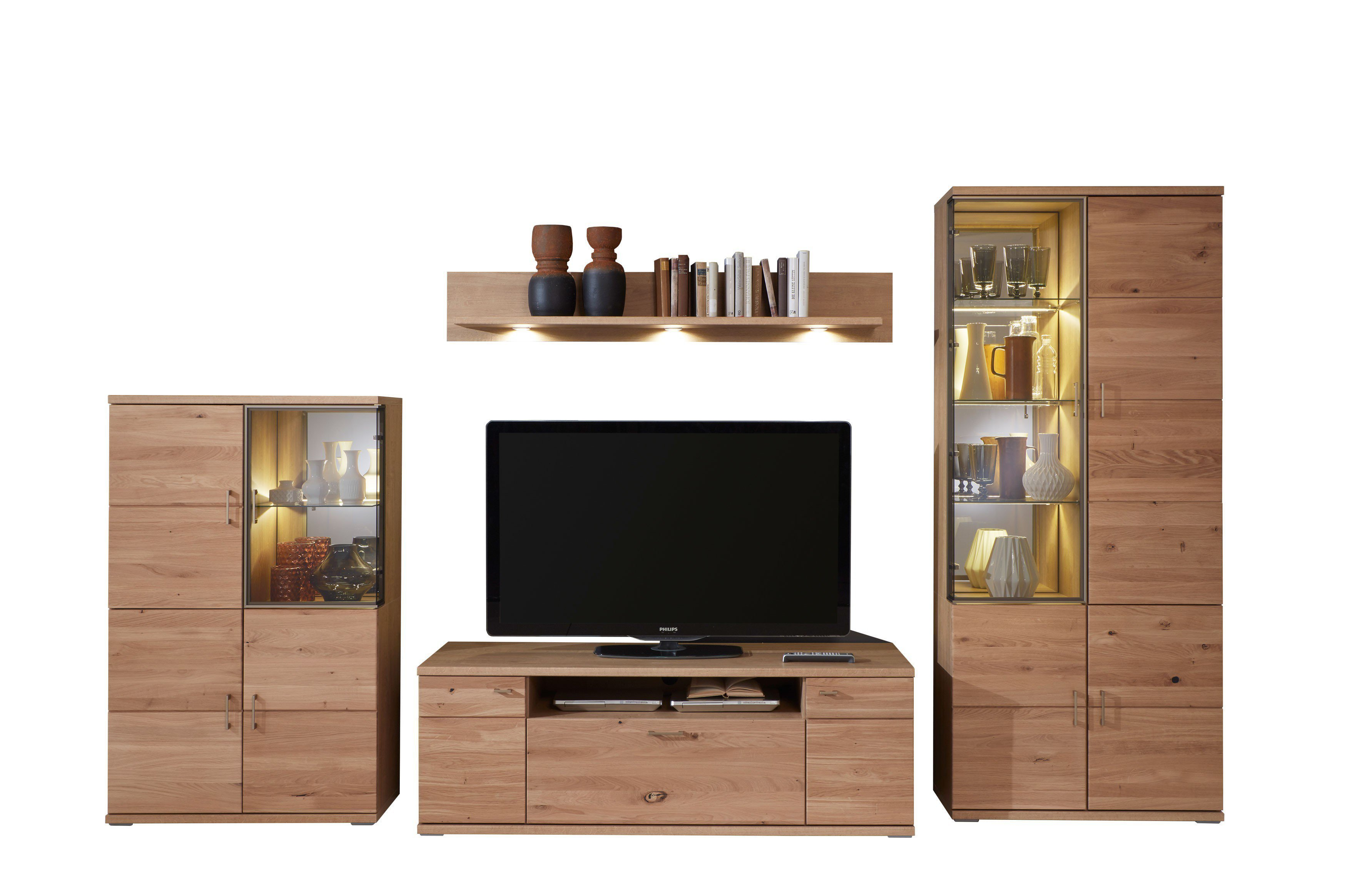 Ideal Möbel Wohnwand Brilon 100 Teilmassive Alteiche Möbel Letz