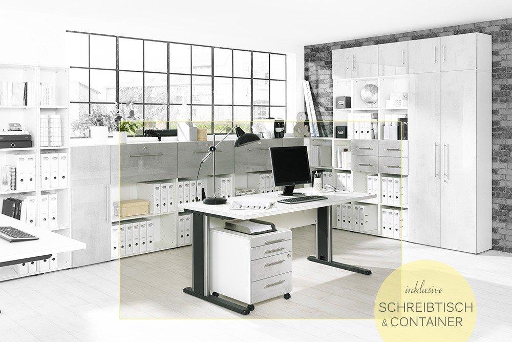 Wellemöbel BRW Büromöbelset | Möbel Letz - Ihr Online-Shop