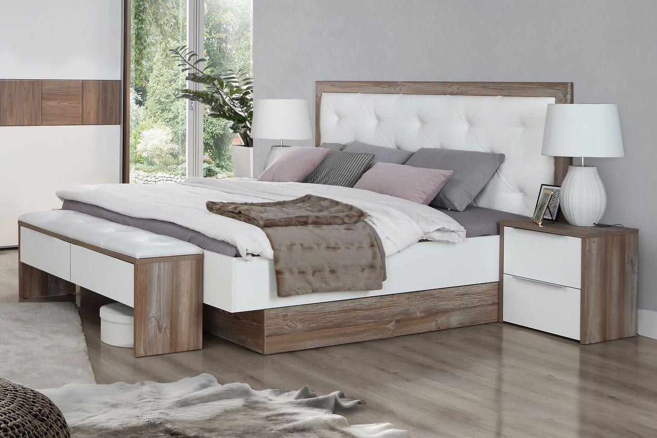 Forte Esporao Bett weiß - Picea Nachbildung | Möbel Letz - Ihr ...