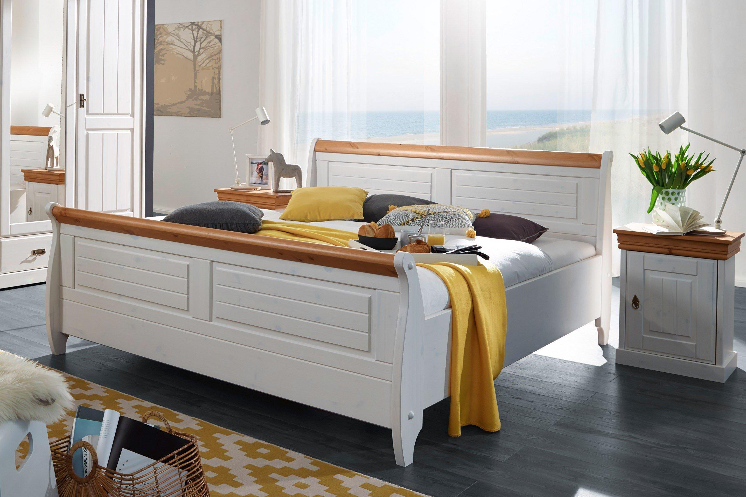 Cool Weißes Holzbett Sammlung Von Roma Von Gk Möbelvertrieb - Kiefer Weiß/