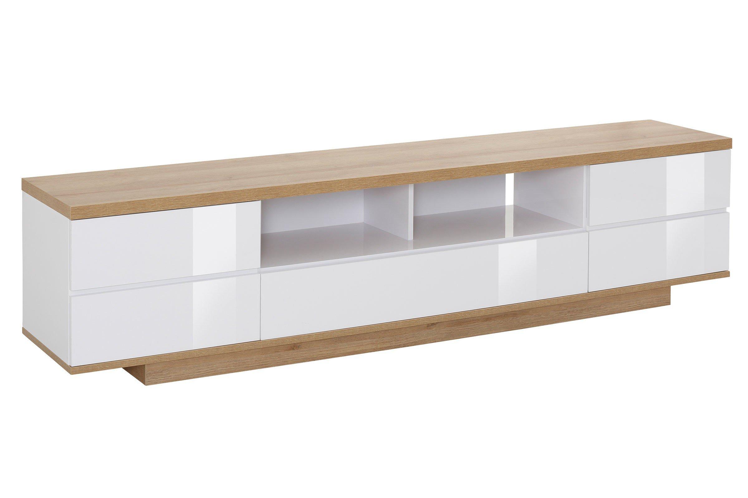 Brilliant Lowboard Eiche Weiß Das Beste Von 7714 Von Maja Möbel - Eiche/ Weiß