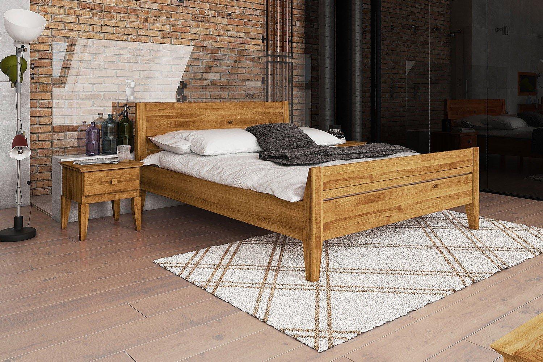 The Beds Odys Bett mit massivem Kopf- & Fußteil | Möbel Letz - Ihr ...