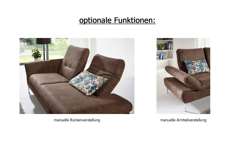 f s polsterm bel 304 pina polstergruppe in braun m bel letz ihr online shop. Black Bedroom Furniture Sets. Home Design Ideas