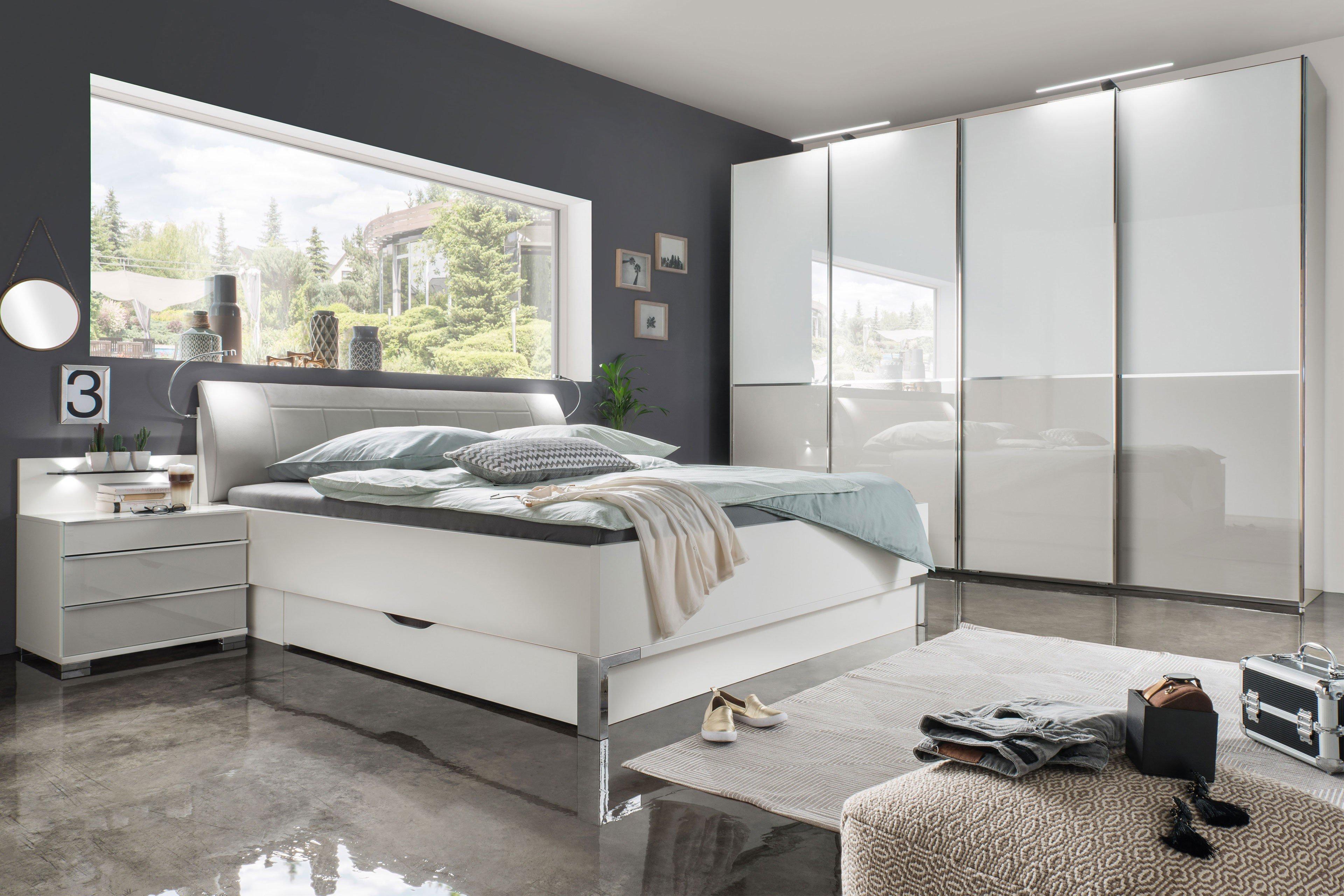 Wiemann Shanghai 2 Schlafzimmer weiß - grau | Möbel Letz - Ihr ...