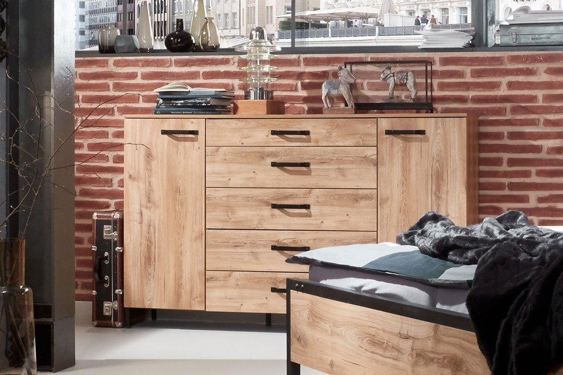 Wimex Detroit Kommode Im Industrial Style Mobel Letz Ihr Online Shop