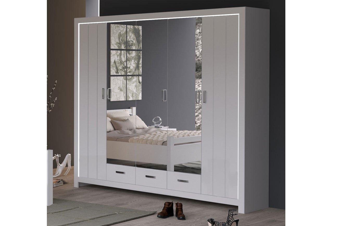 Forestdream Village Schlafzimmerschrank 5 Türig Möbel Letz Ihr