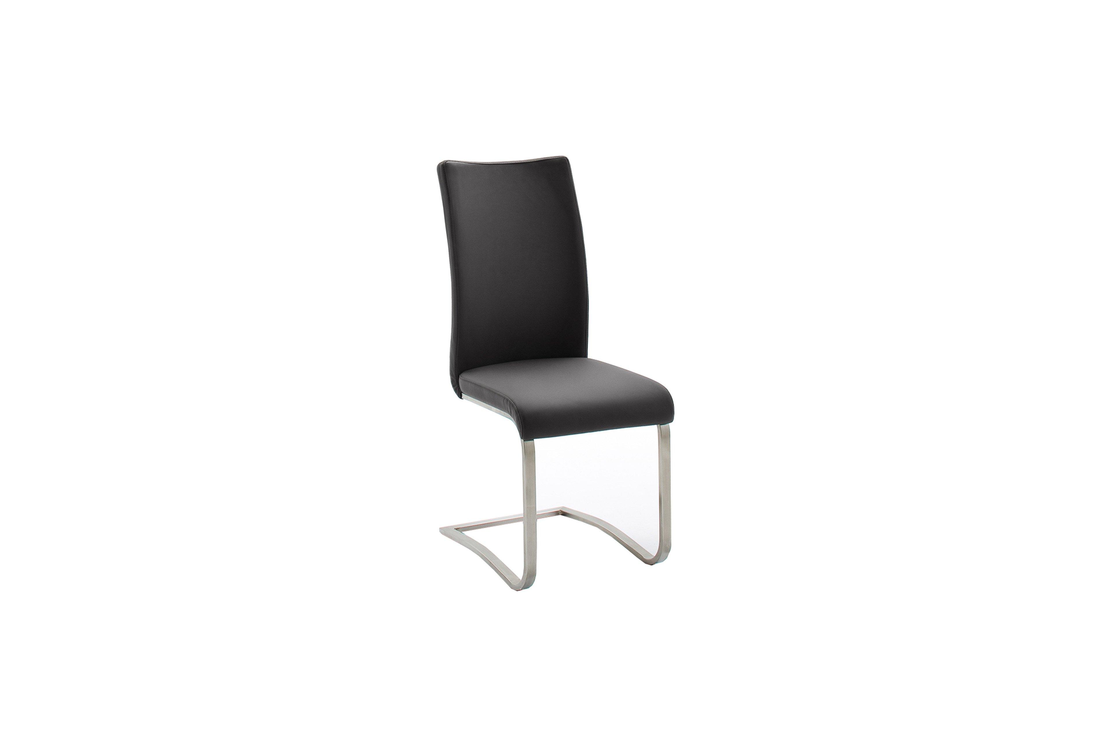 Stuhl Arco von MCA furniture in Kunstleder/ Edelstahl | Möbel Letz ...