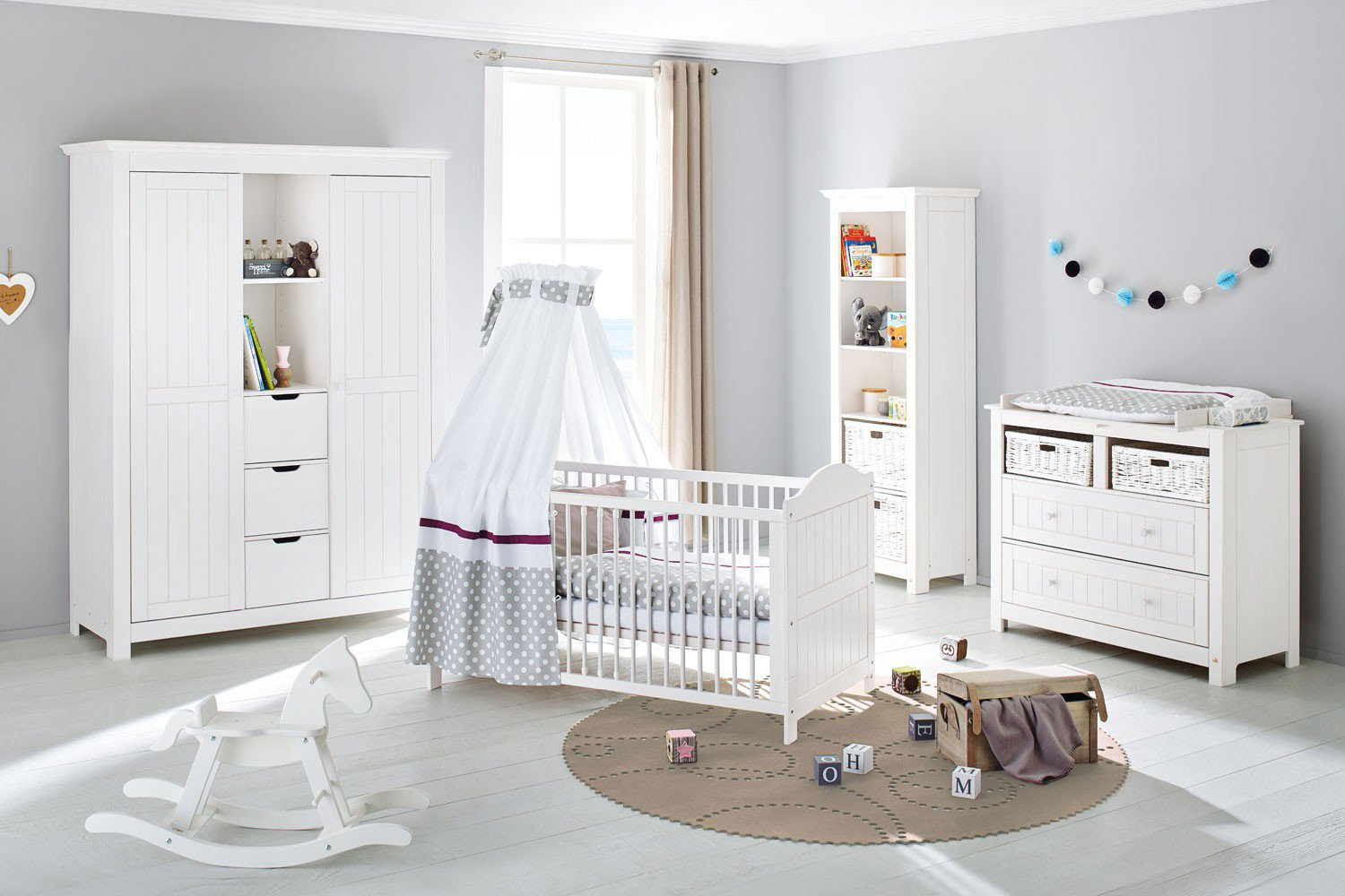 pinolino nina babyzimmer massiv kiefer wei m bel letz ihr online shop. Black Bedroom Furniture Sets. Home Design Ideas