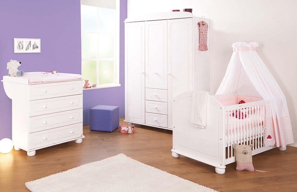 babyzimmer clara von pinolino in fichte massiv wei lasiert m bel letz ihr online shop. Black Bedroom Furniture Sets. Home Design Ideas
