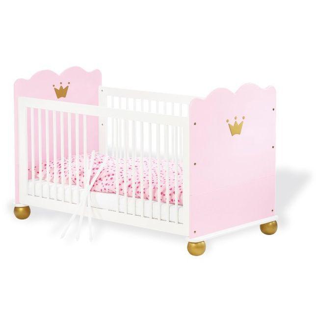Prinzessin Babyzimmer pinolino karolin kinderzimmer prinzessin fichte massiv möbel letz